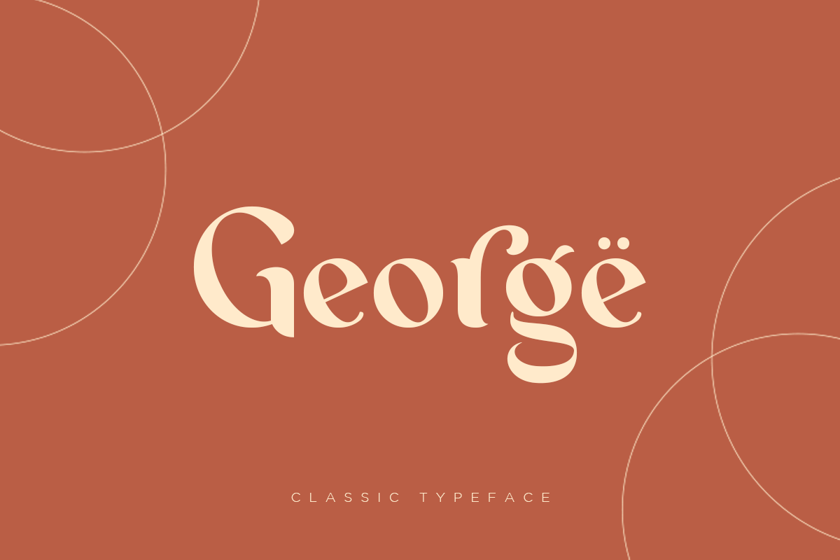 George - Classic Typeface example image 1