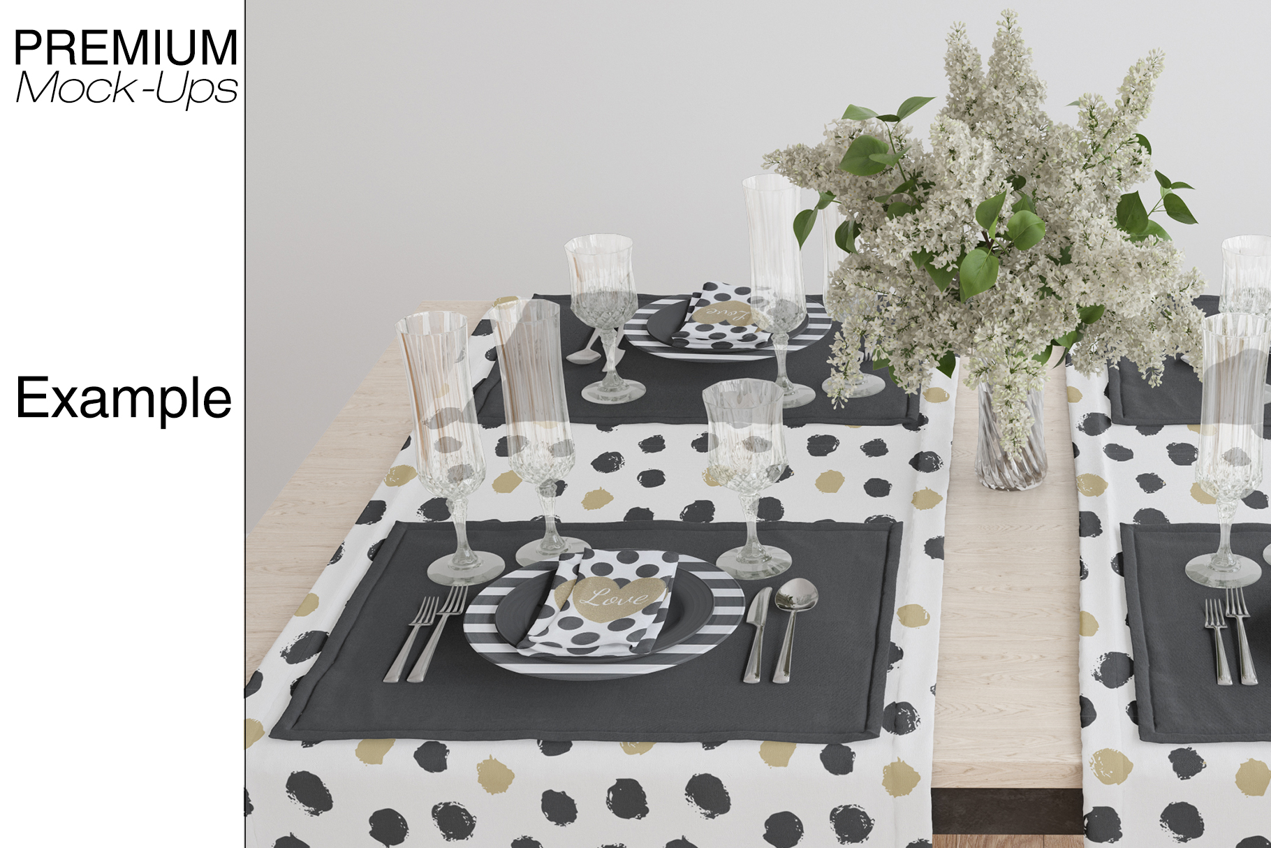 Tablecloth, Runner, Napkins & Plates example image 13