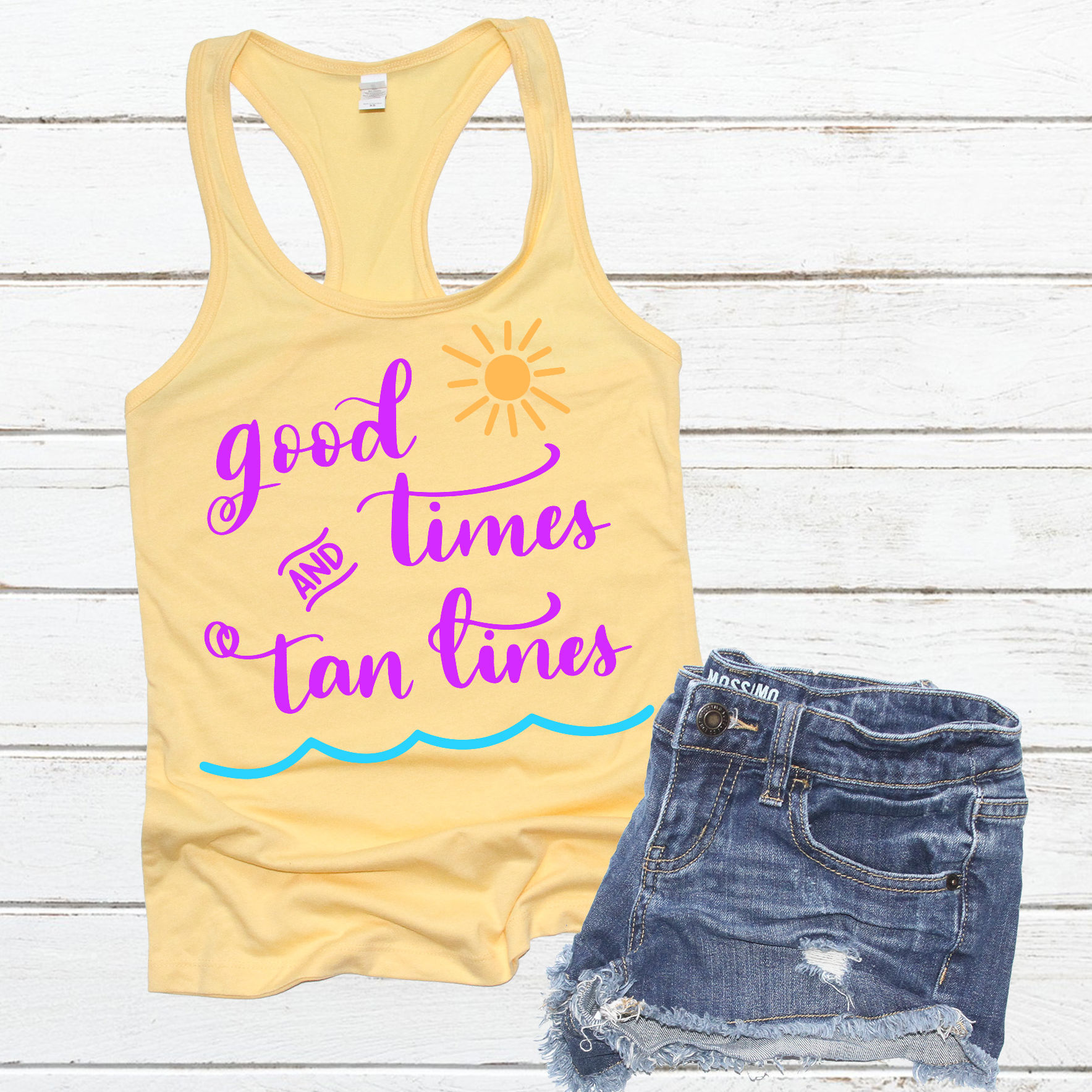Good Times and Tan Lines SVG - Summer SVG - Vacation SVG example image 4