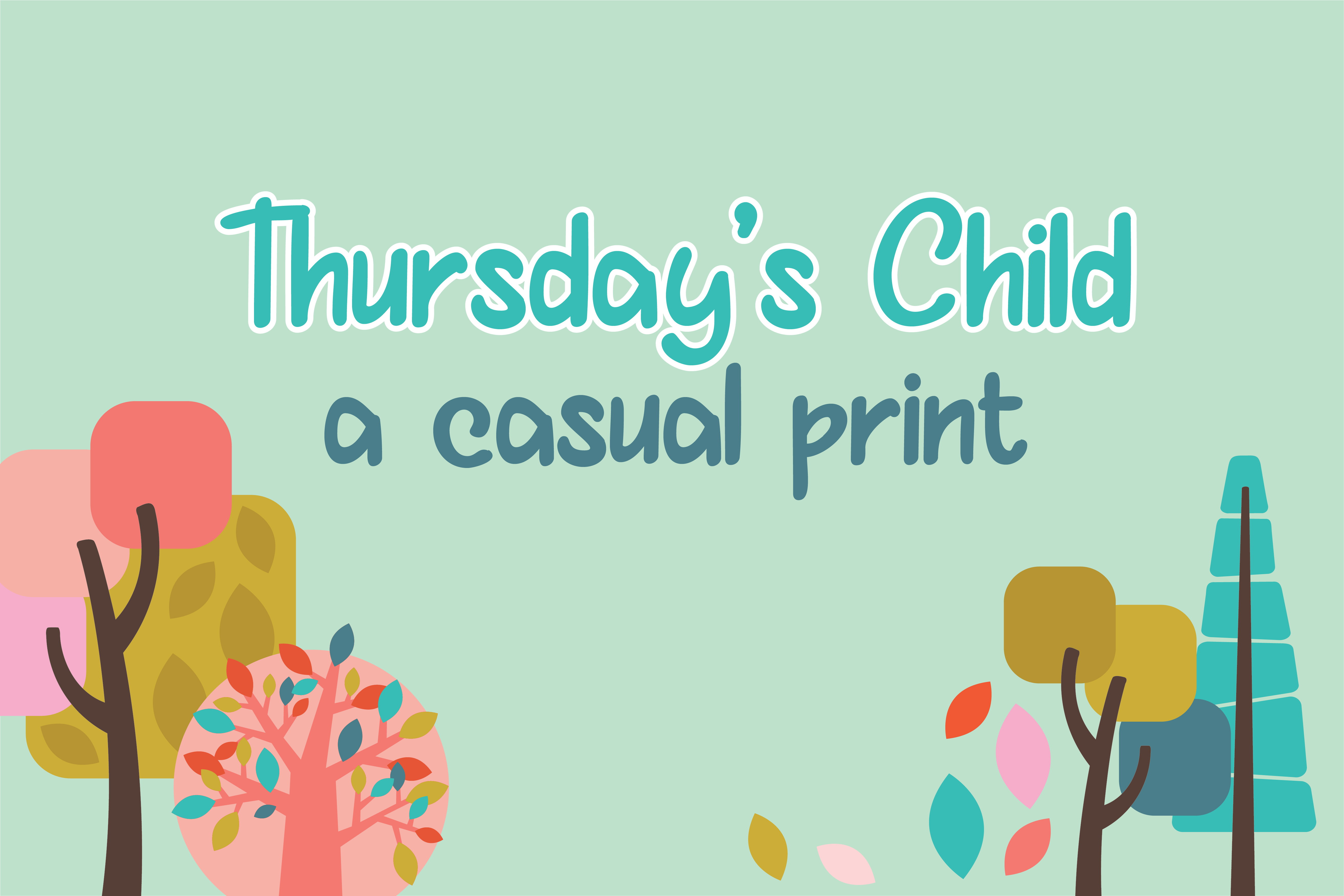 PN Thursday's Child example image 1
