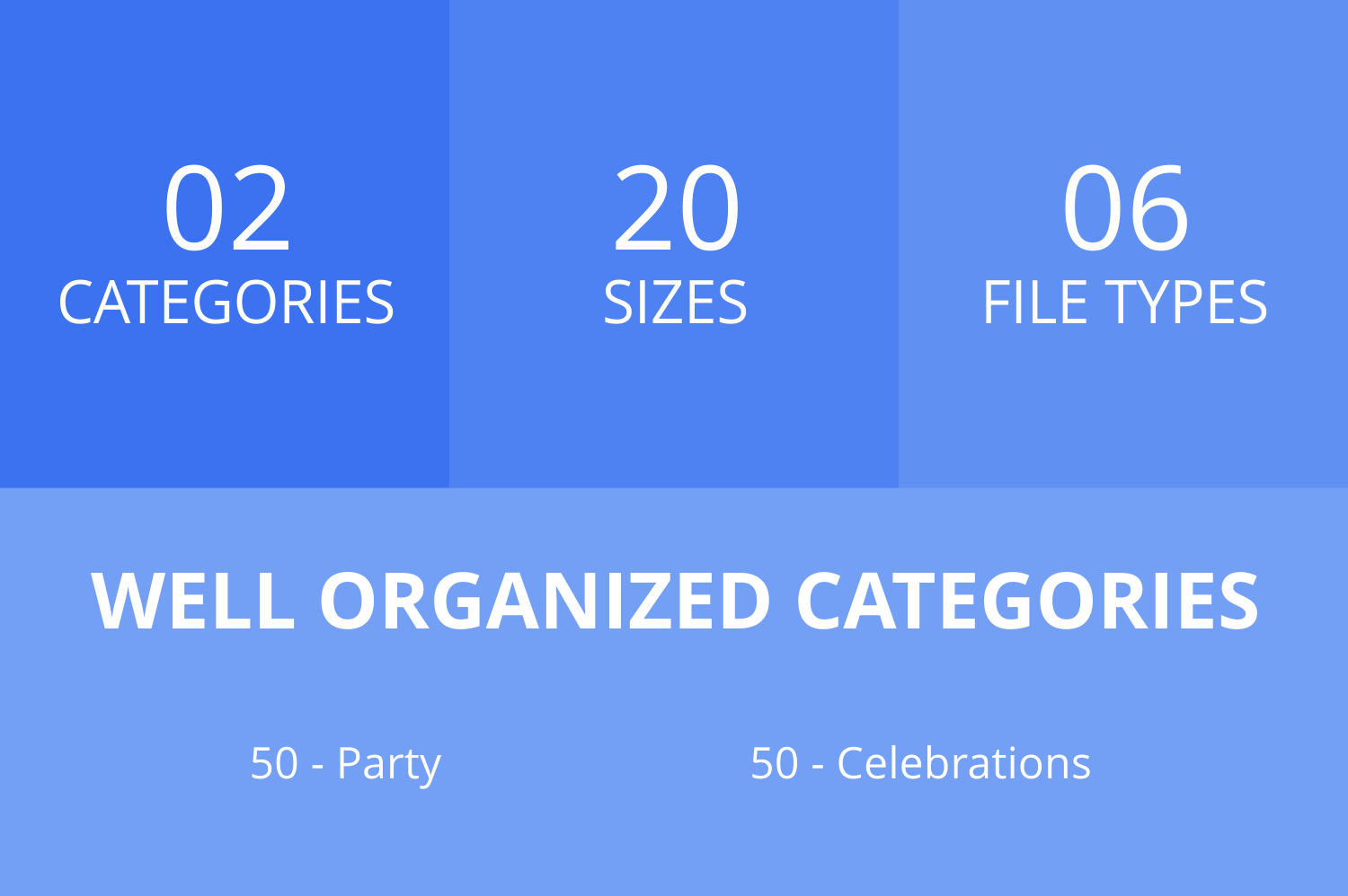 100 Party Filled Line Icons example image 3