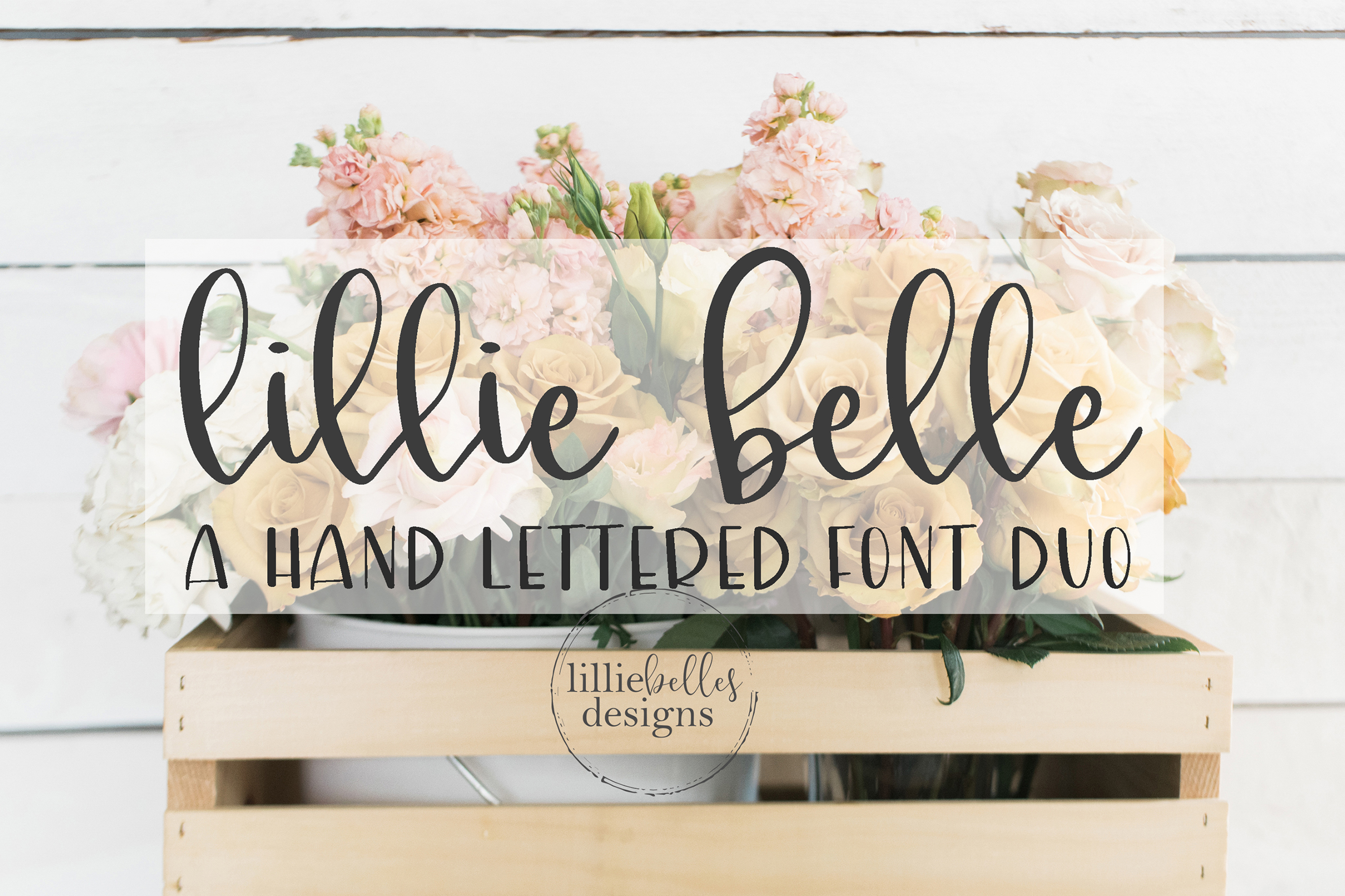 lillie belle font example image 1