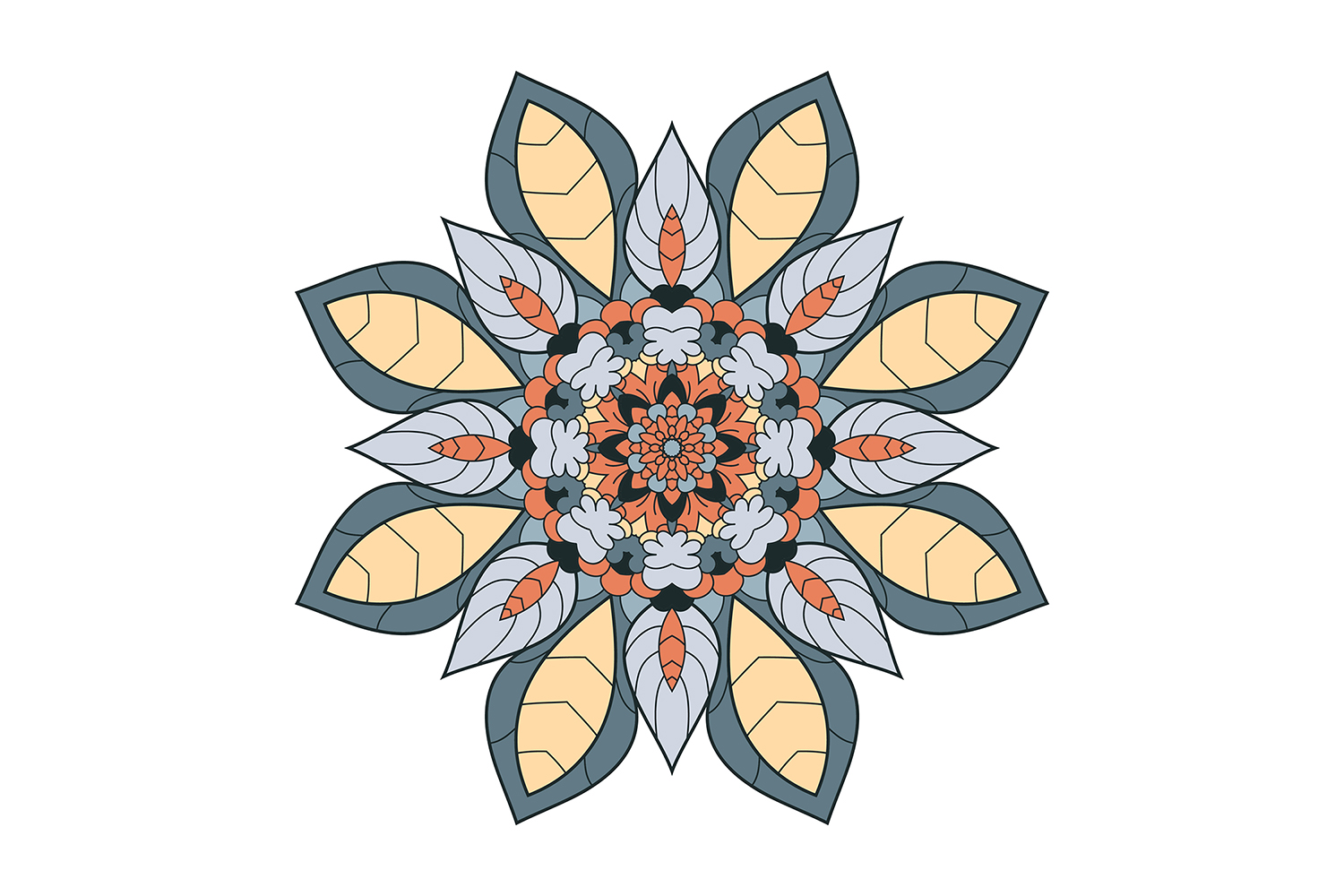Flower Pattern Artwork example image 1