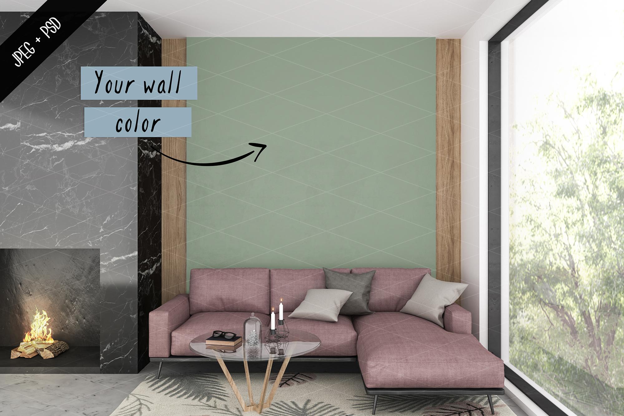 Frame mockup creator - All image size - Interior mockup example image 6