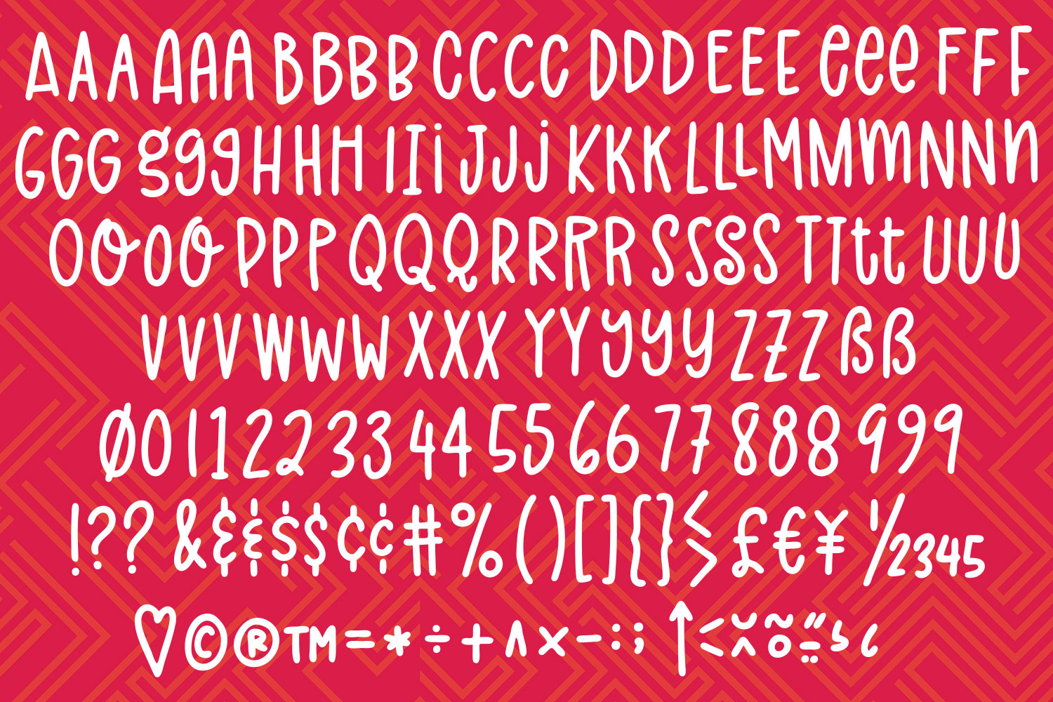 Ralphabet Soup - a hand-lettered vector alphabet set! example image 2