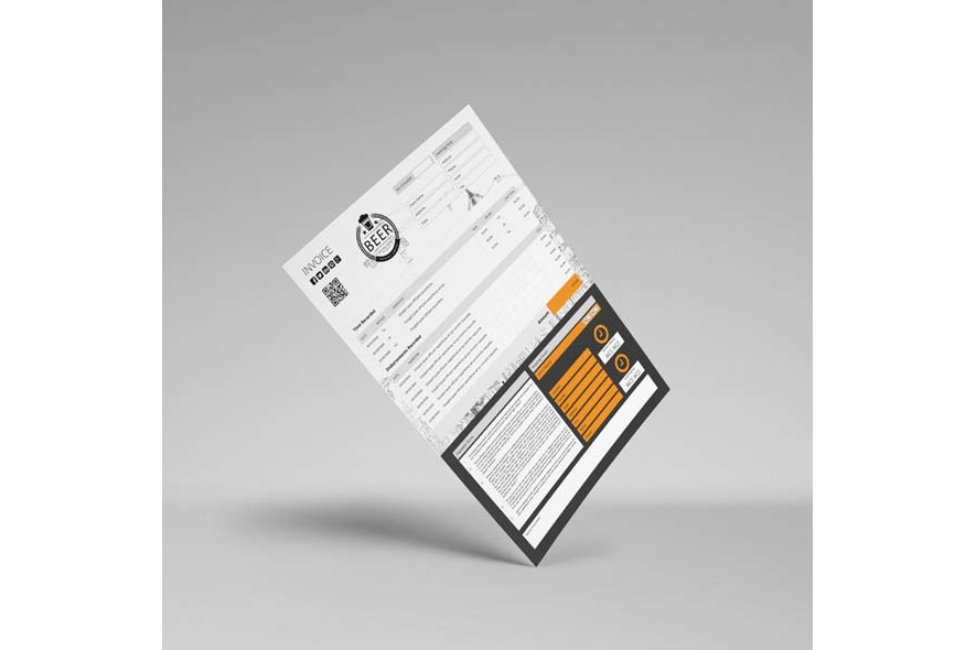 A4 Invoice Template example image 4