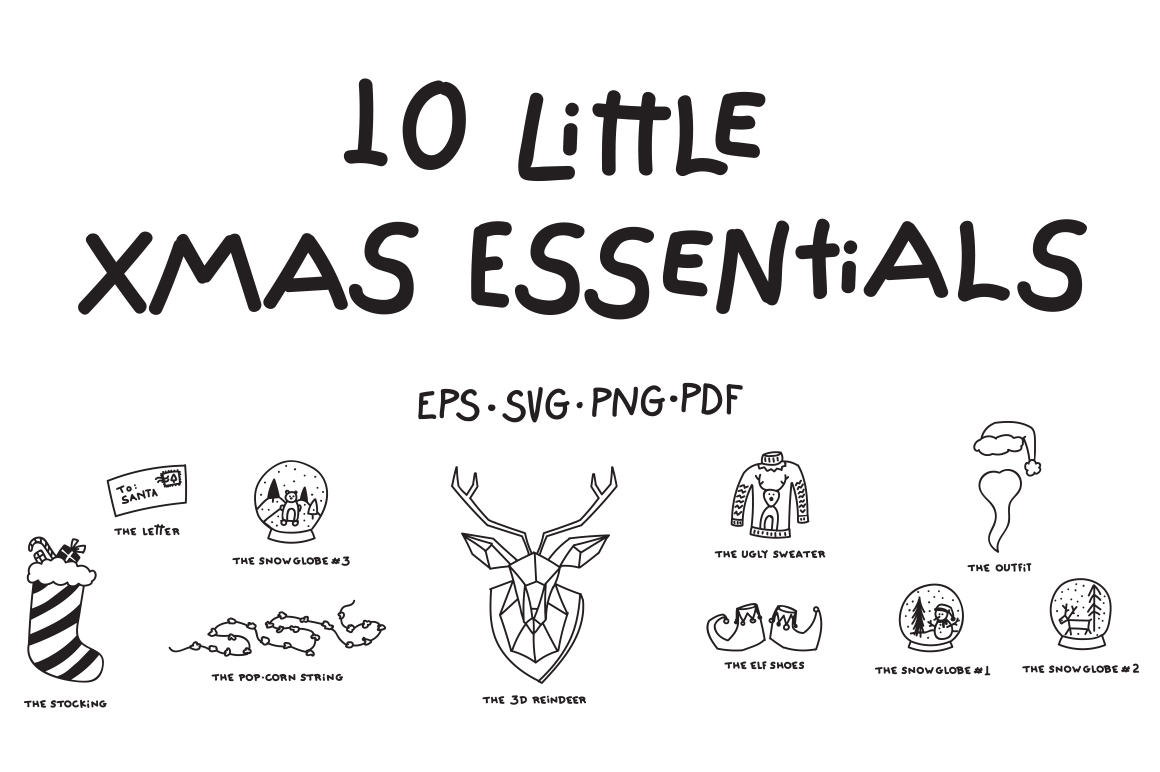 10 Little Xmas Essentials example image 1