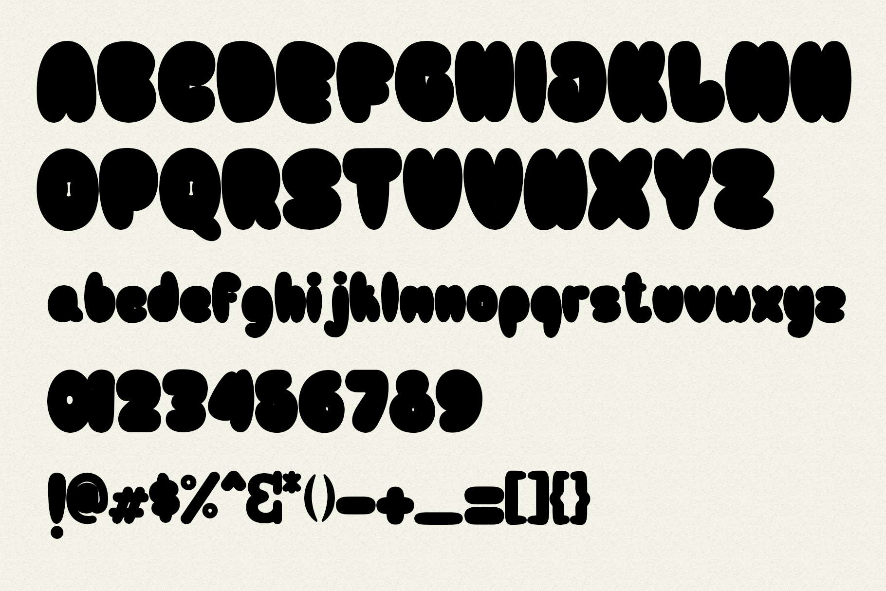 Bulb Layered Font example image 5