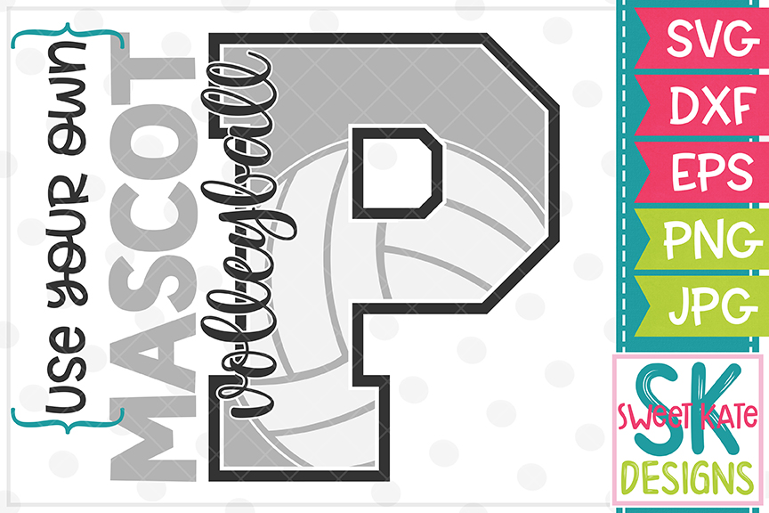 Your Own Mascot P SVG Bundle - 10 - SVG DXF EPS PNG JPG example image 10
