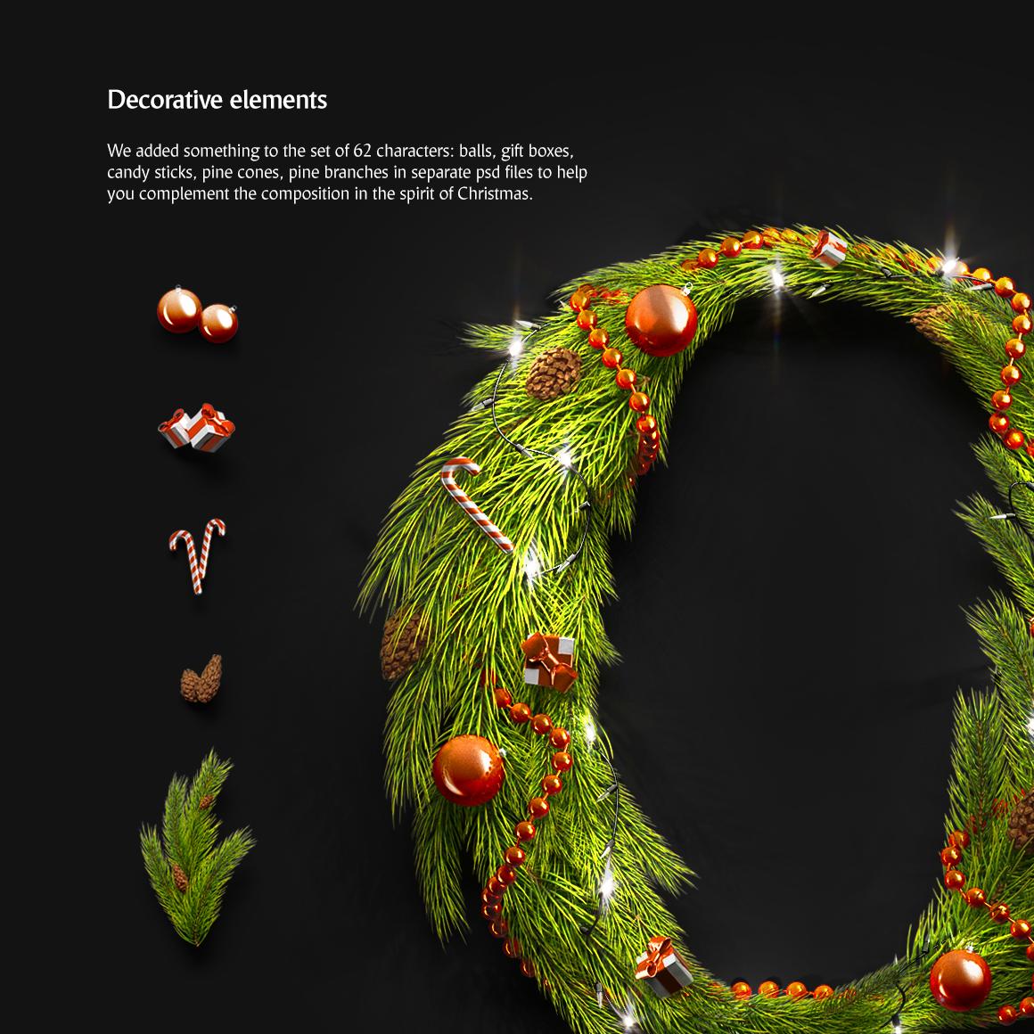 Christmas Animated Typeface example image 6
