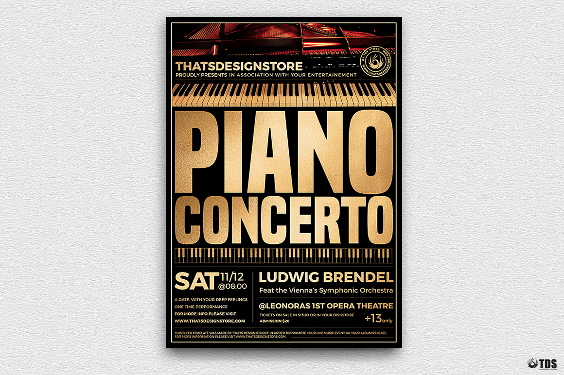 Special Pianist Flyer Bundle example image 4
