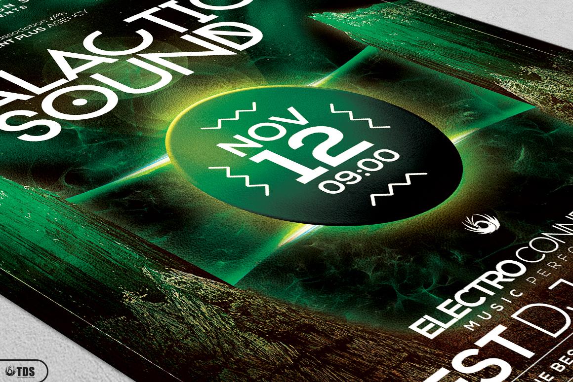 Galactic Sound Flyer Bundle example image 13