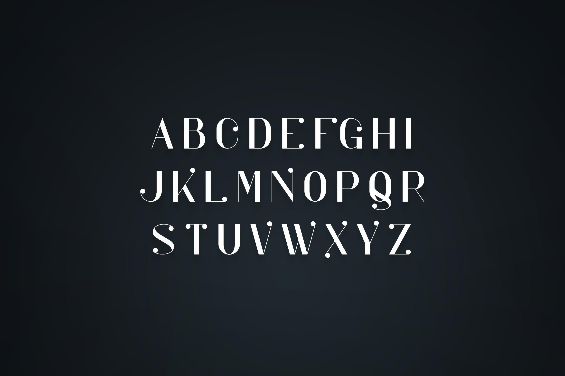 Kocka Serif Font example image 2