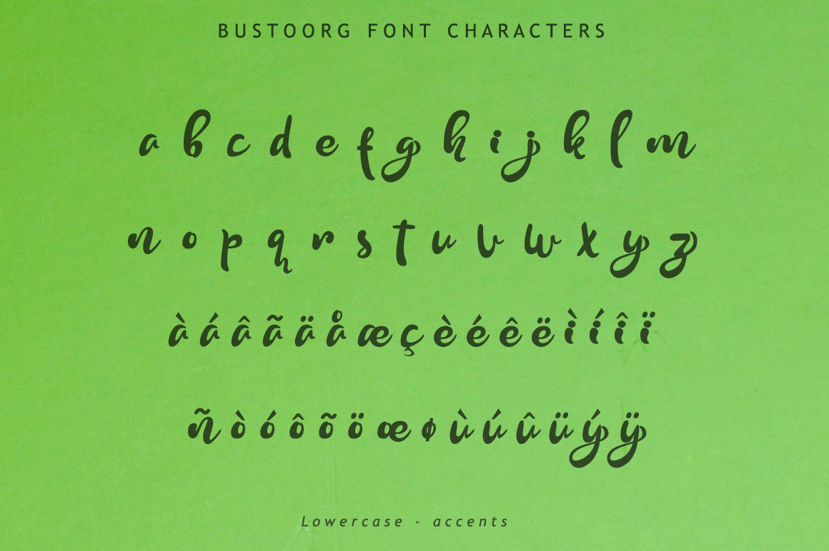 Bustoorg Font example image 14