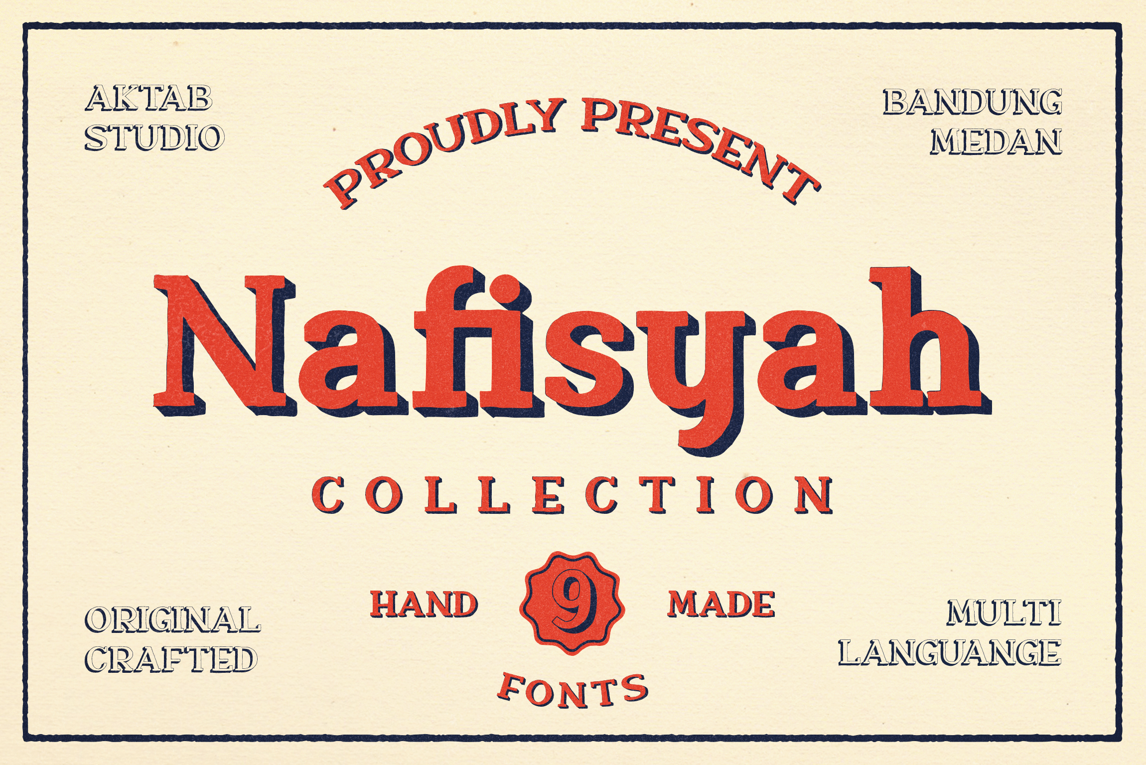 Nafisyah Slab Display Font Collection example image 1