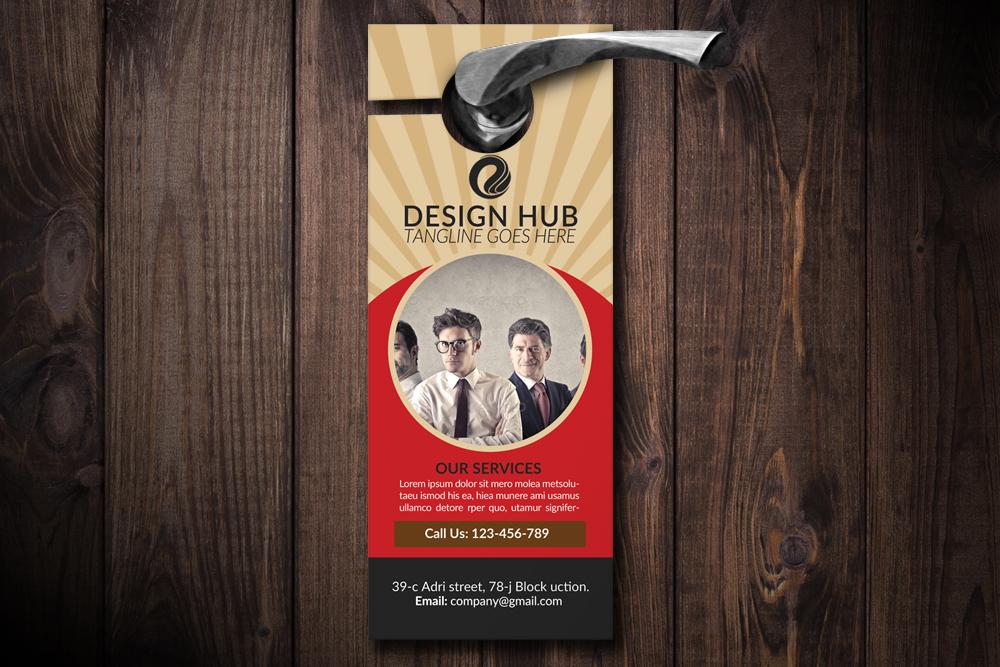 Business Advisor Door Hangers example image 1