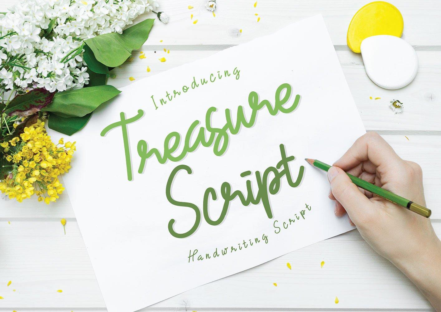 Treasure Script  example 1