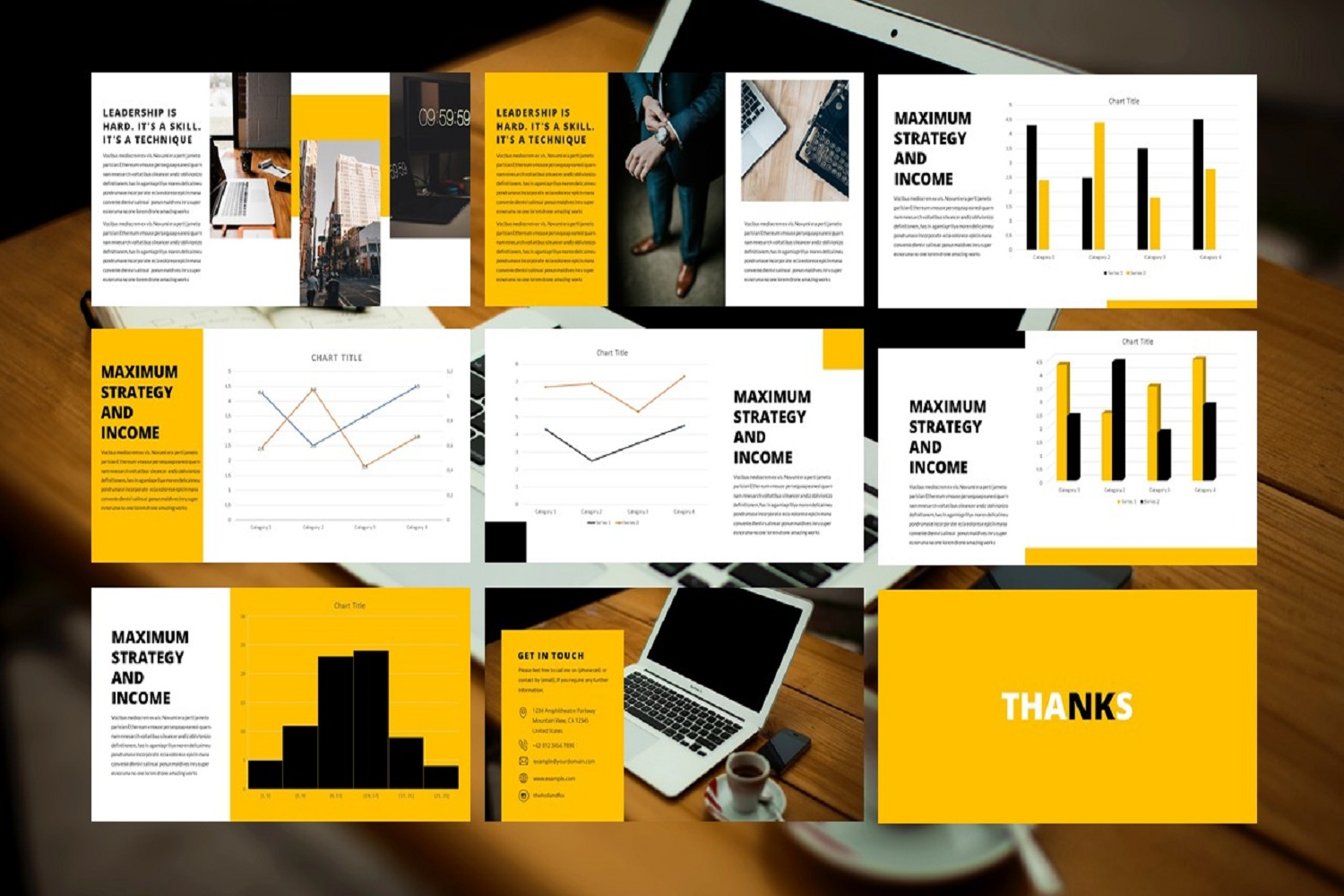 business presentation template example image 4