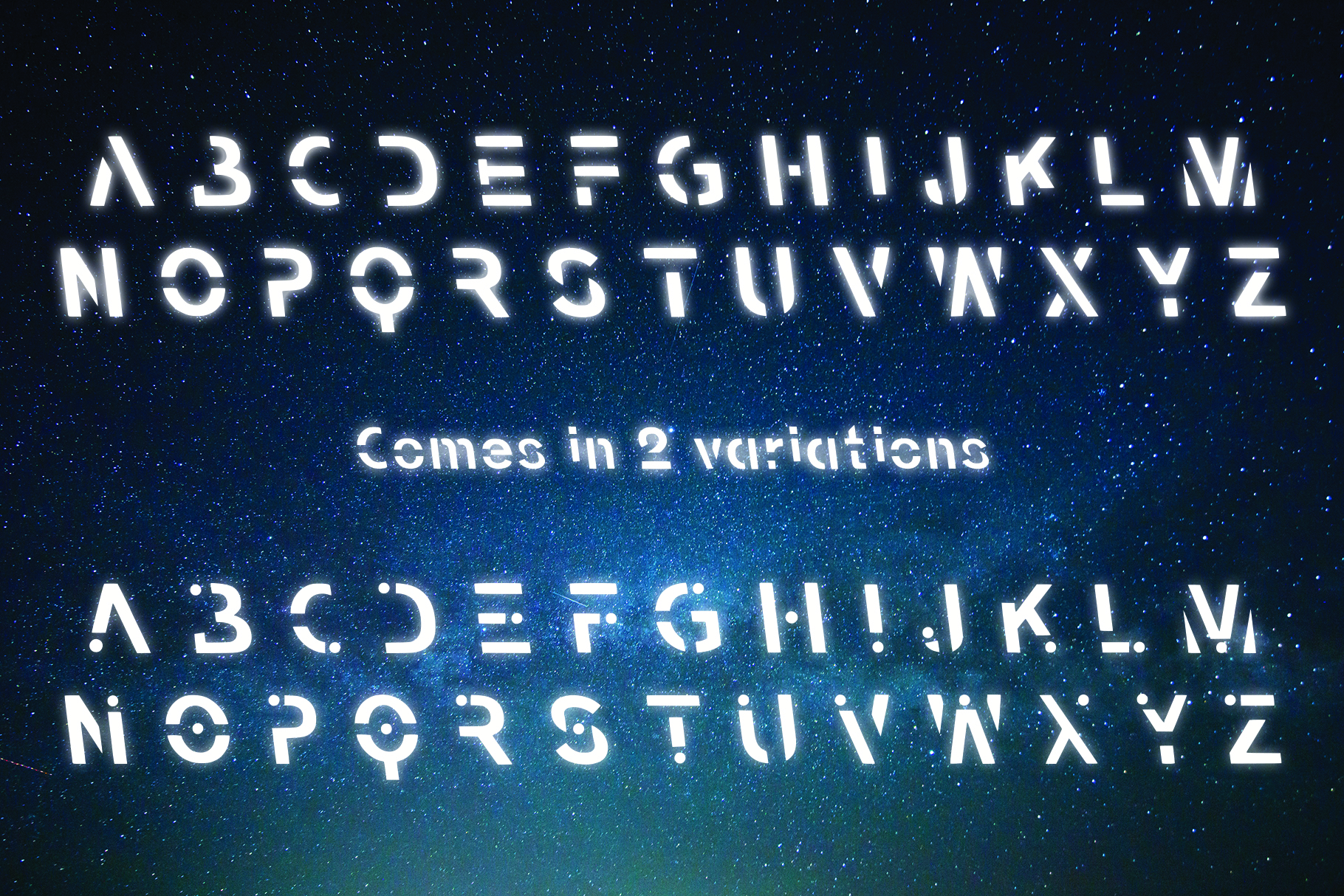 VOYAGER - Typefaces of the Future example image 5
