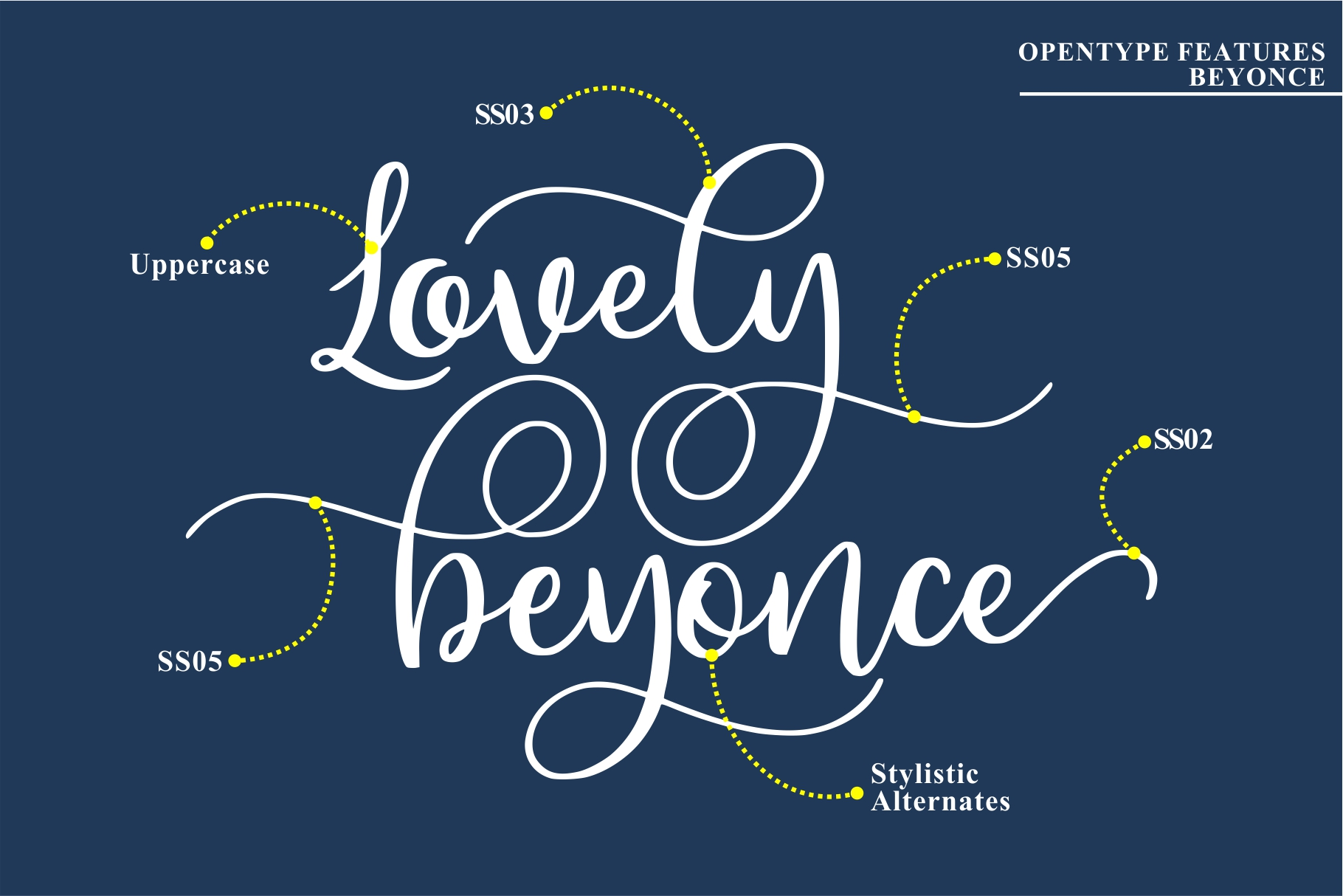 Beyonce - Beauty Font example image 6