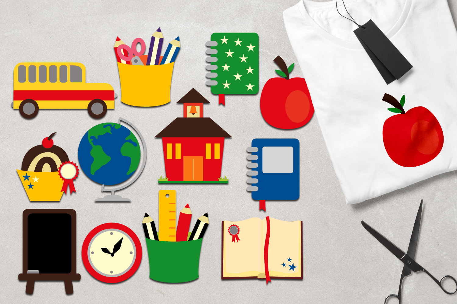 Back To School Clip Art Huge Bundle - Over 350 Graphics example image 15