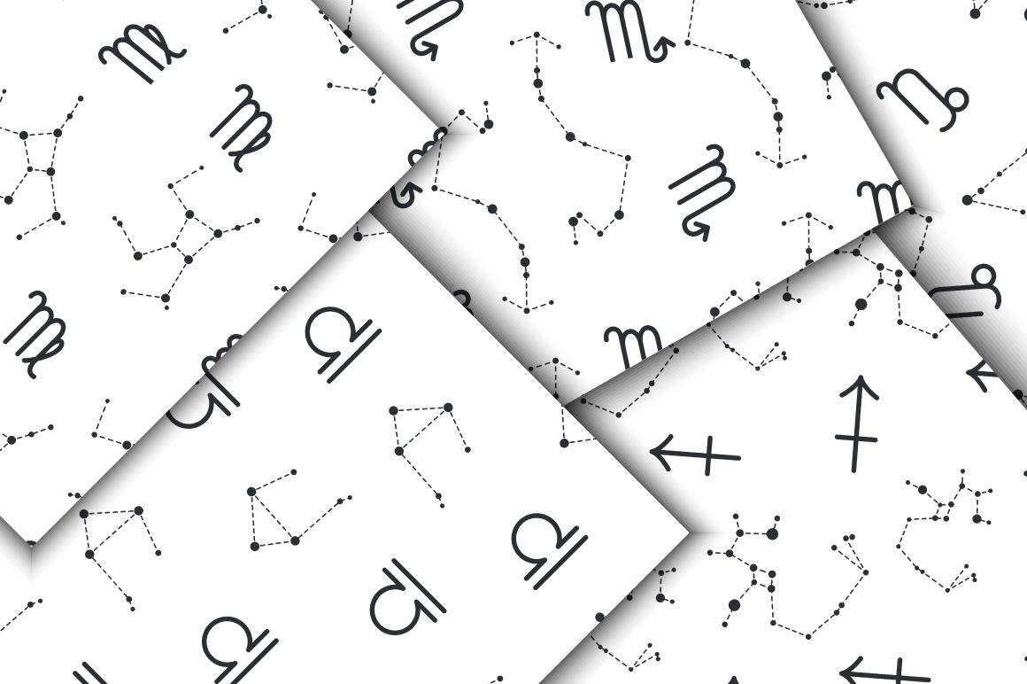 zodiac constellations patterns
