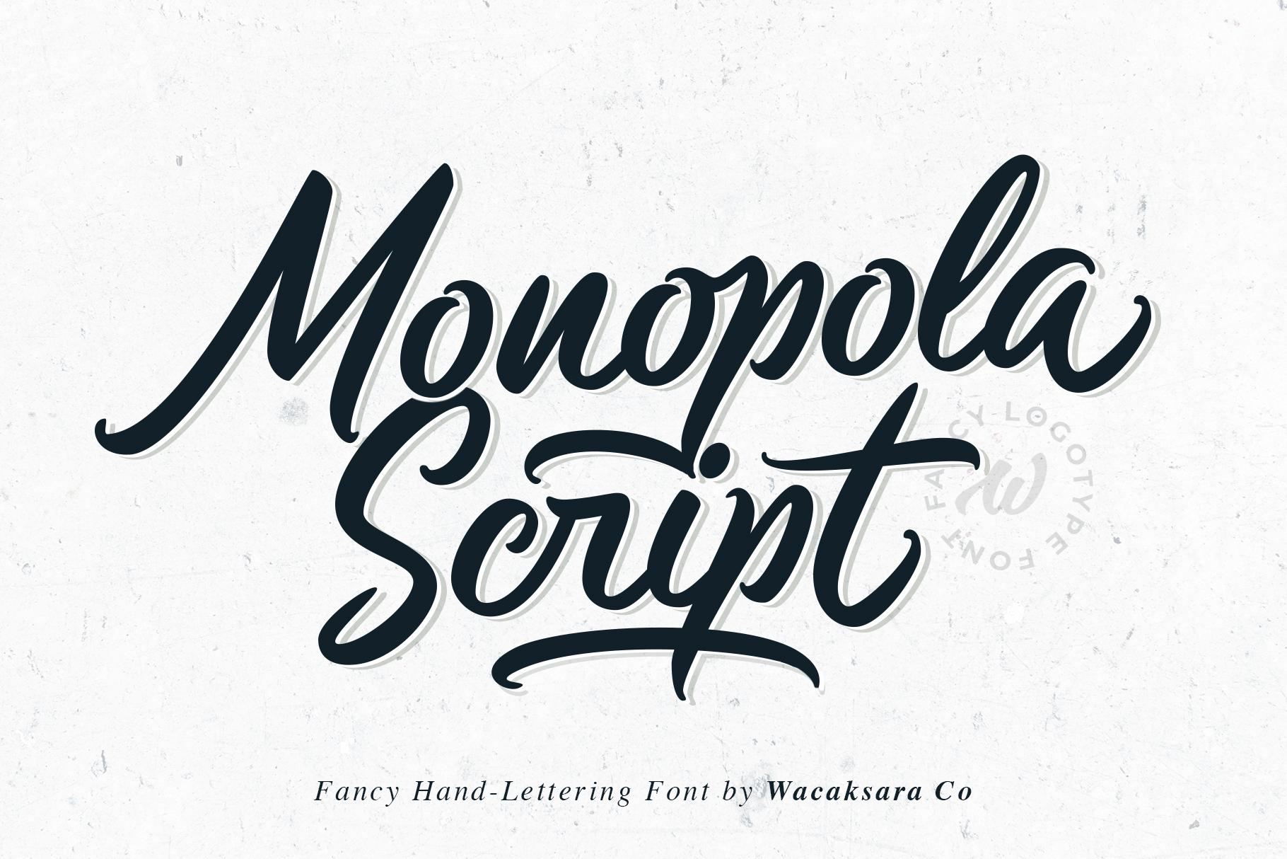 Monopola Script example image 1