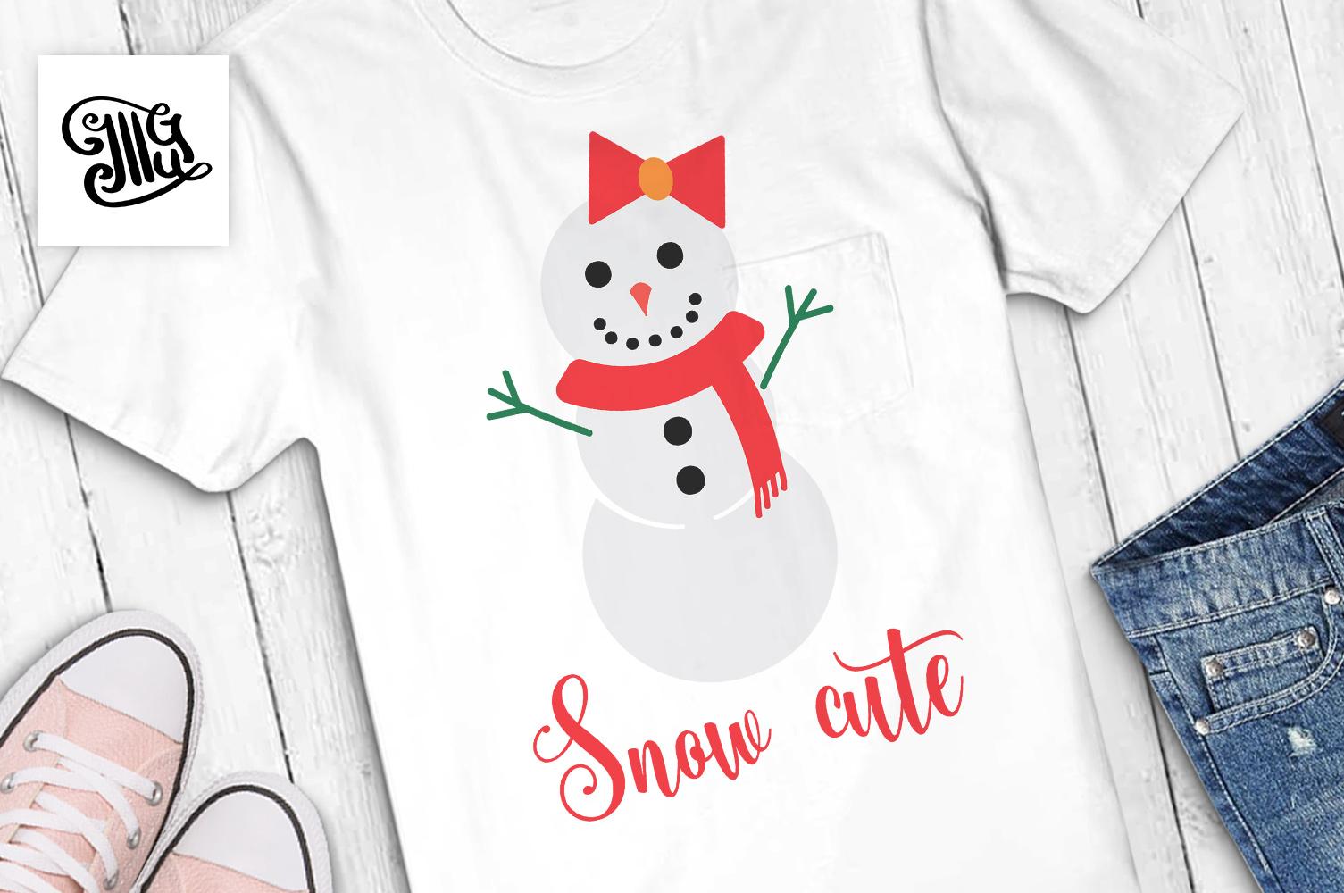 Snow Cute - Christmas kids example image 1