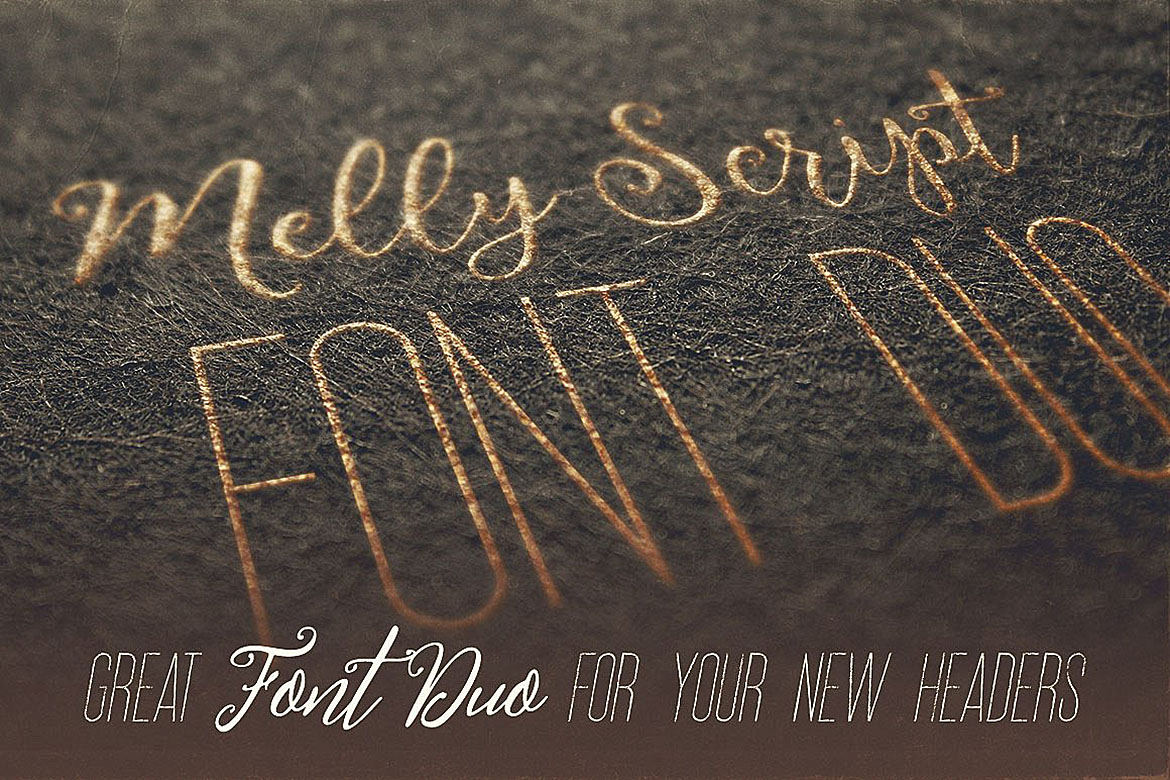 Melly Script Font Duo example image 5