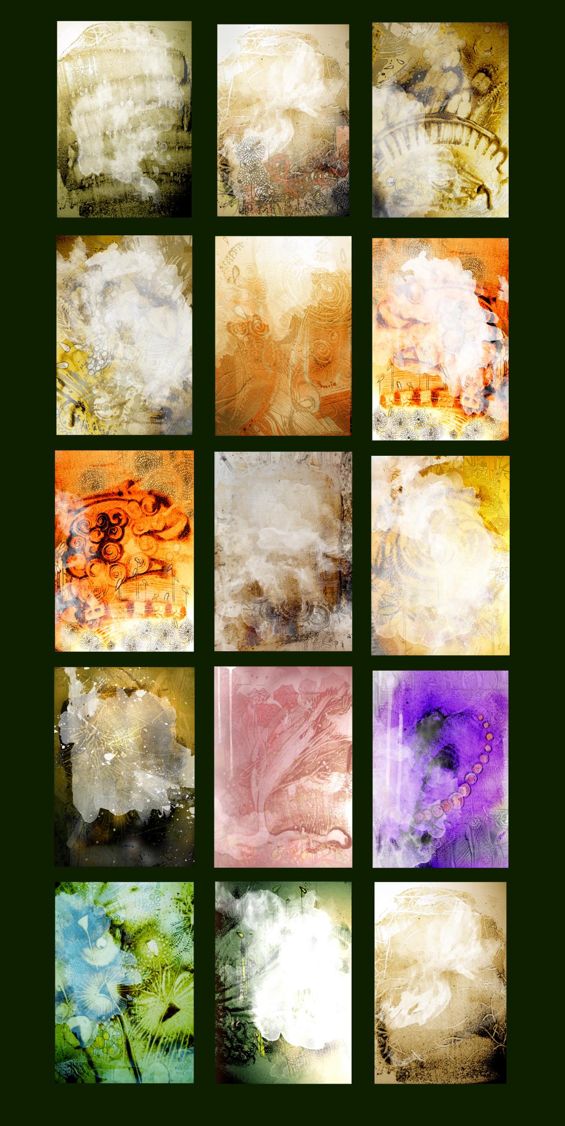 Unique Graphic background Texture BUNDLE example image 4