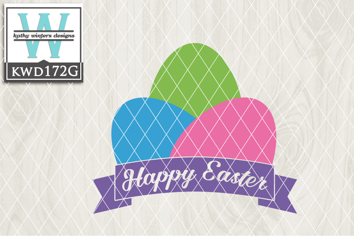 Easter Cutting File KWD172G example image 1