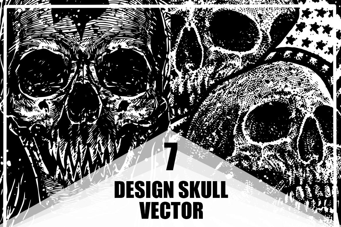 7 design skull VECTOR example image 1
