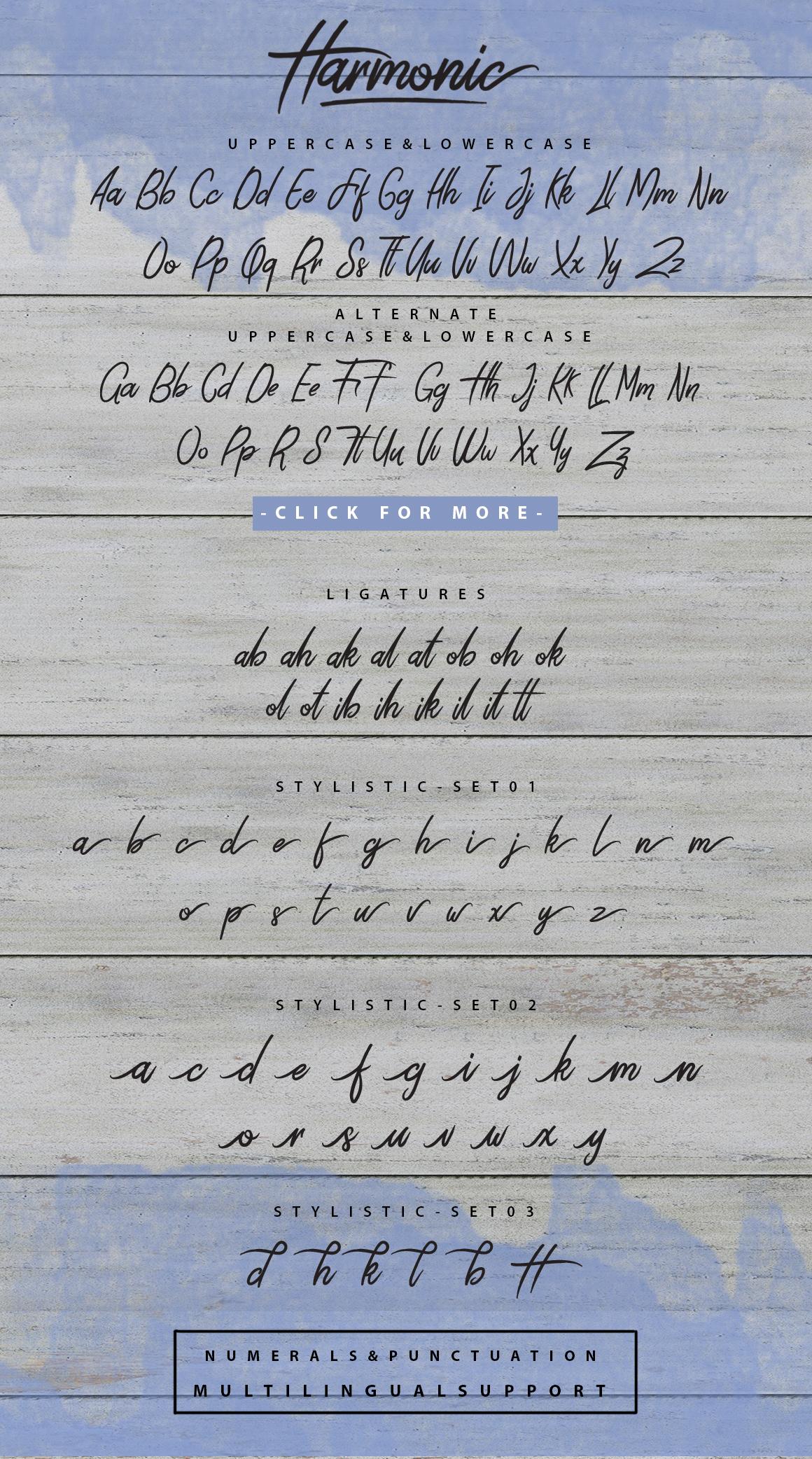 Harmonic Script example image 8
