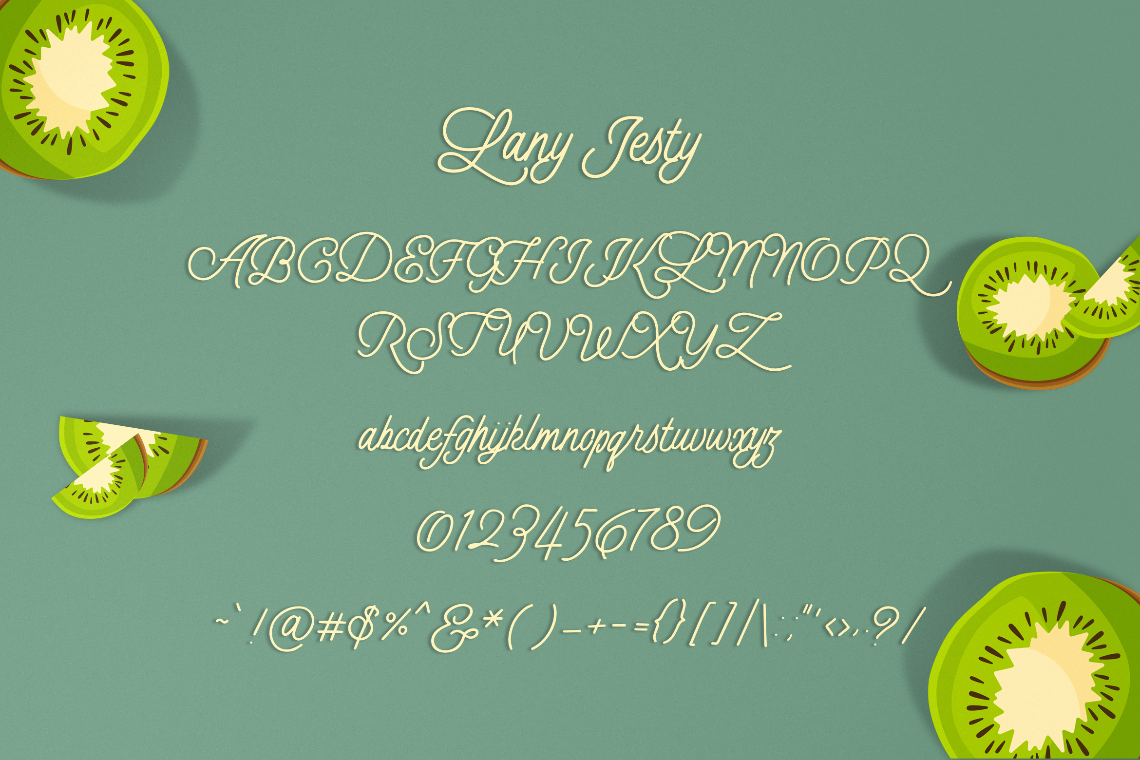 Lany Jesty Script example image 6