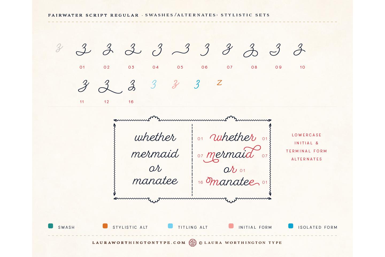 Fairwater Script Regular example image 24