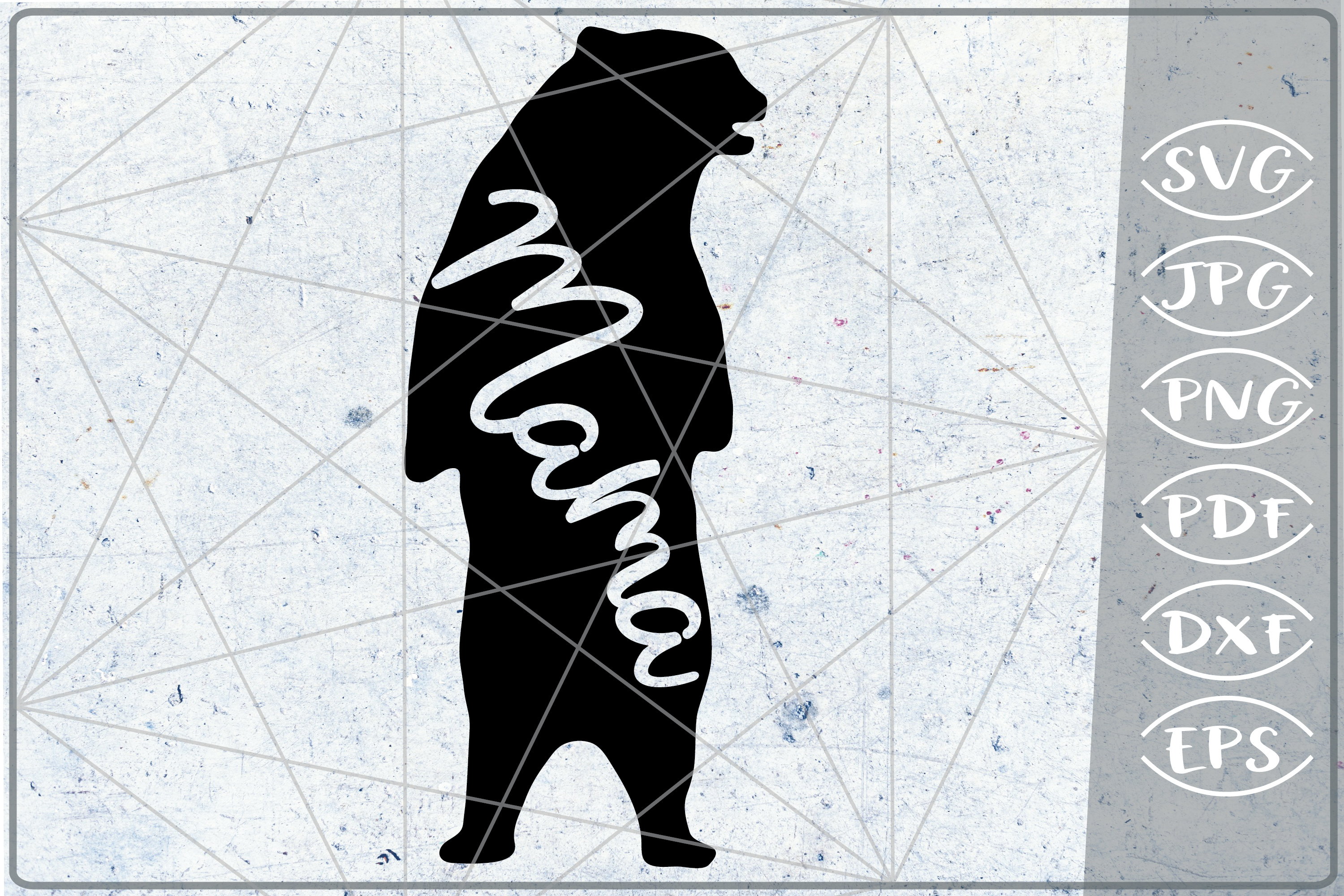 Mama Bear SVG Cutting File Mother's Day svg png cricut files example image 1