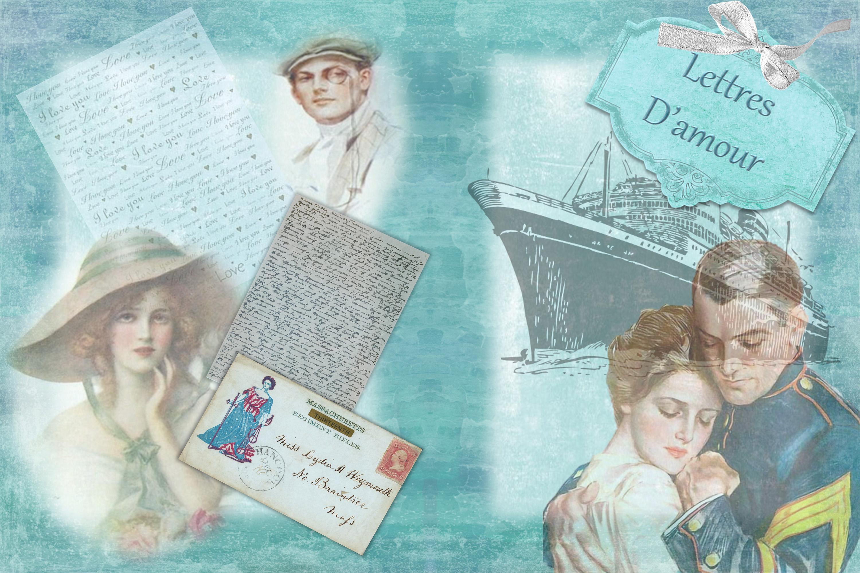 Vintage Victorian Journaling or scrapbooking & FREE Ephemera example image 3