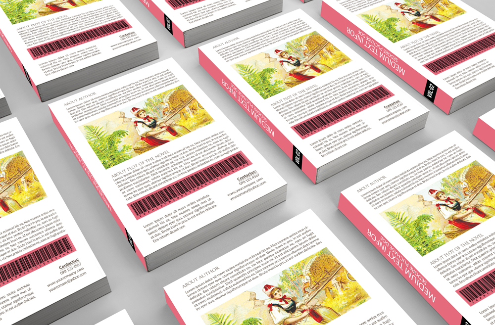 Novel Book Cover Template example image 4