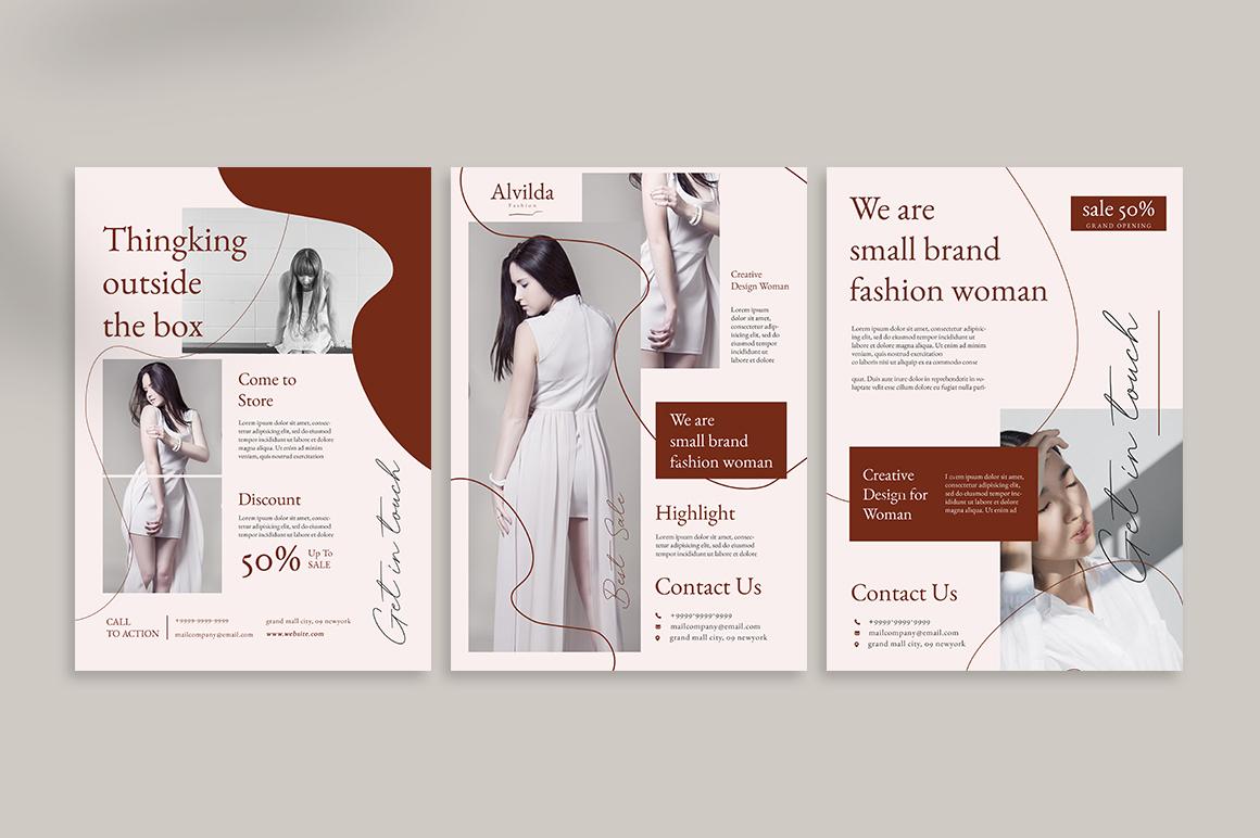 Alvida Flyer Templates example image 2