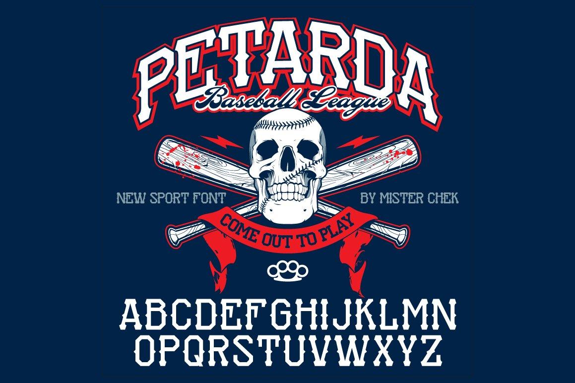 Petarda Sport Font example image 1