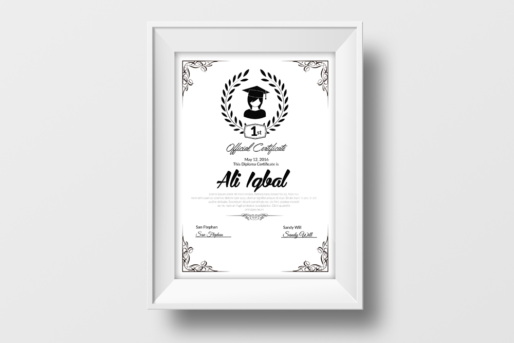 Educational Certificate Template example image 2