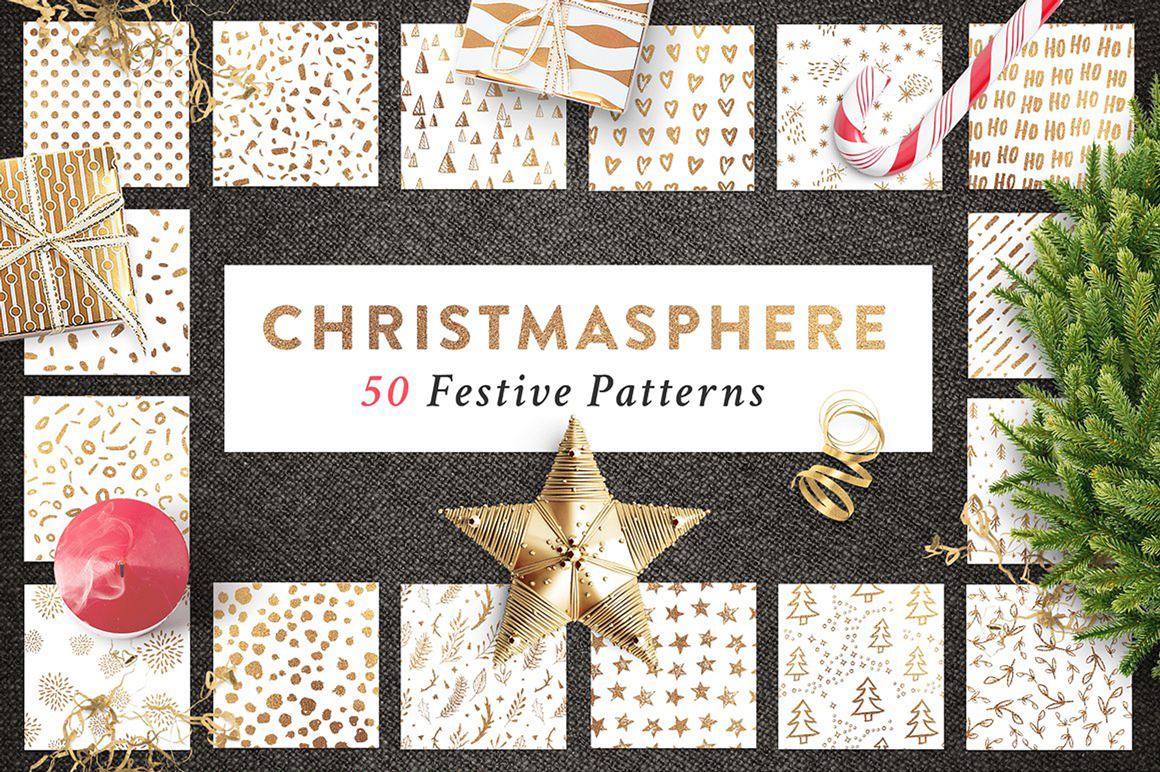 70 OFF Christmas Creator Bundle example image 3
