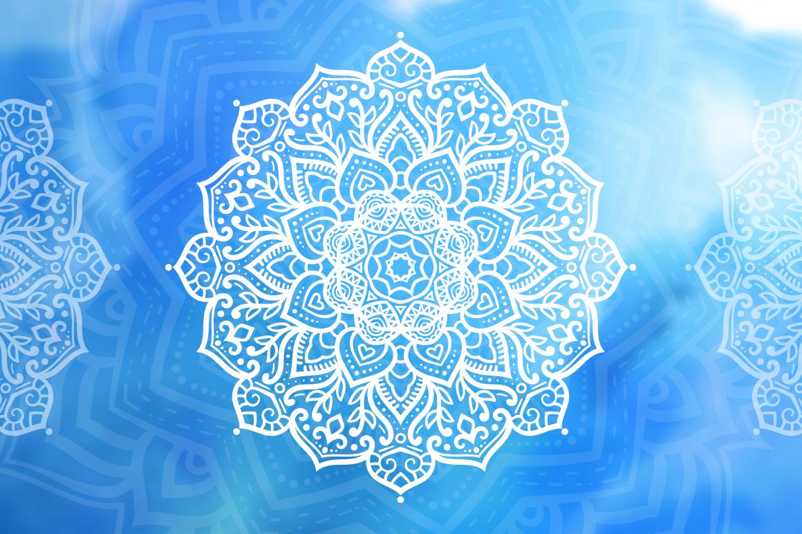 100 Vector Mandalas, Round Ornaments example image 4