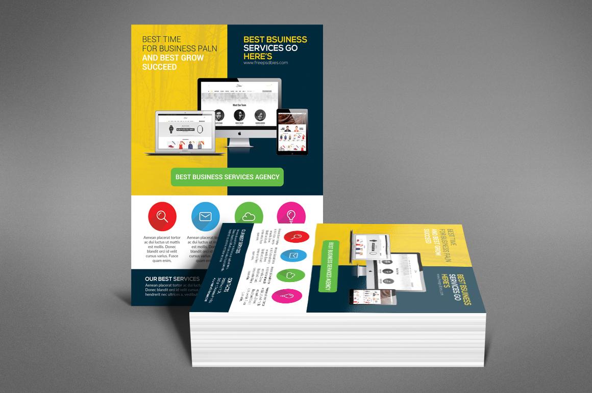 Creative Web Agency Flyer example image 3