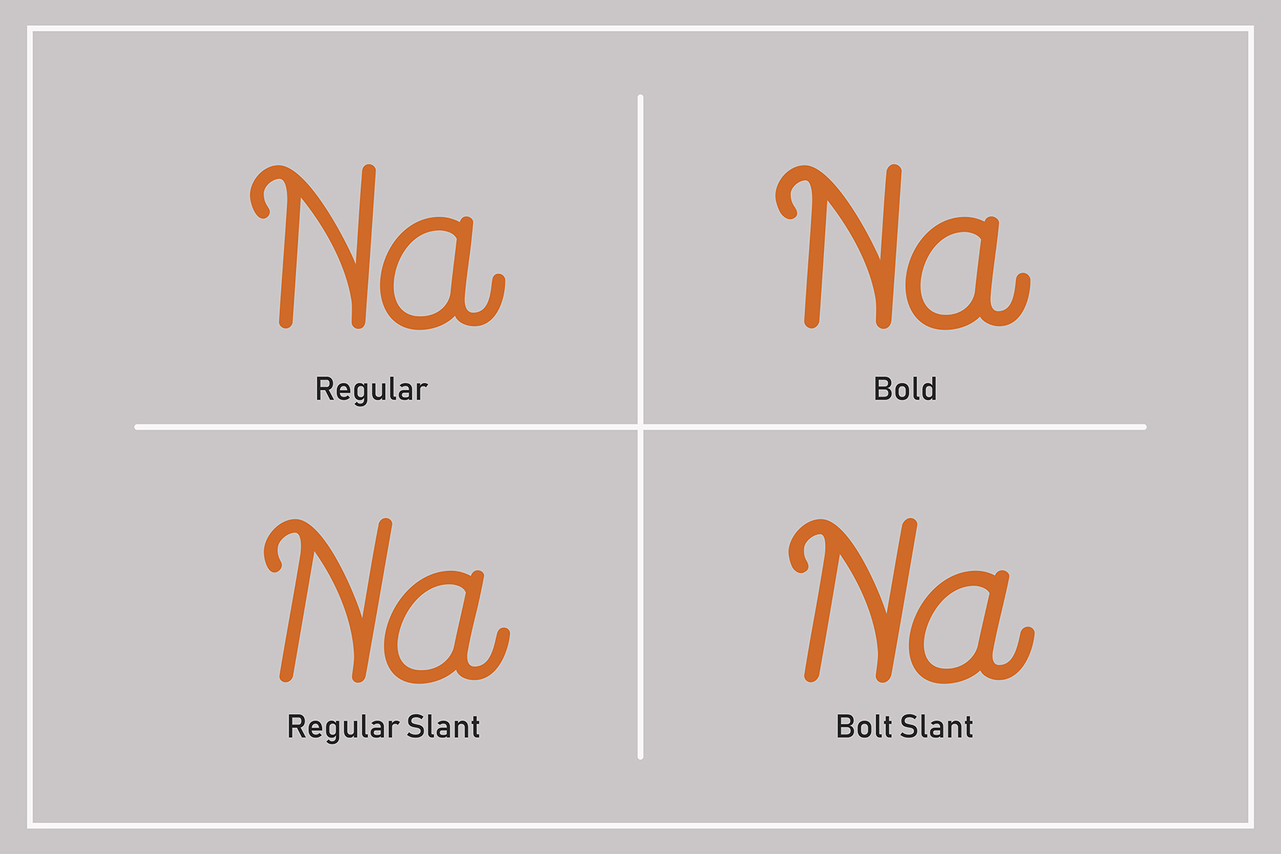 Routerline - 4 Style Font example image 3