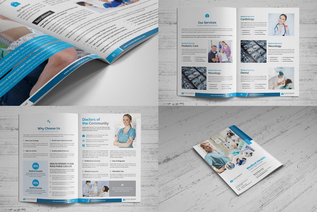 Medical HealthCare Brochure Bundle example image 9
