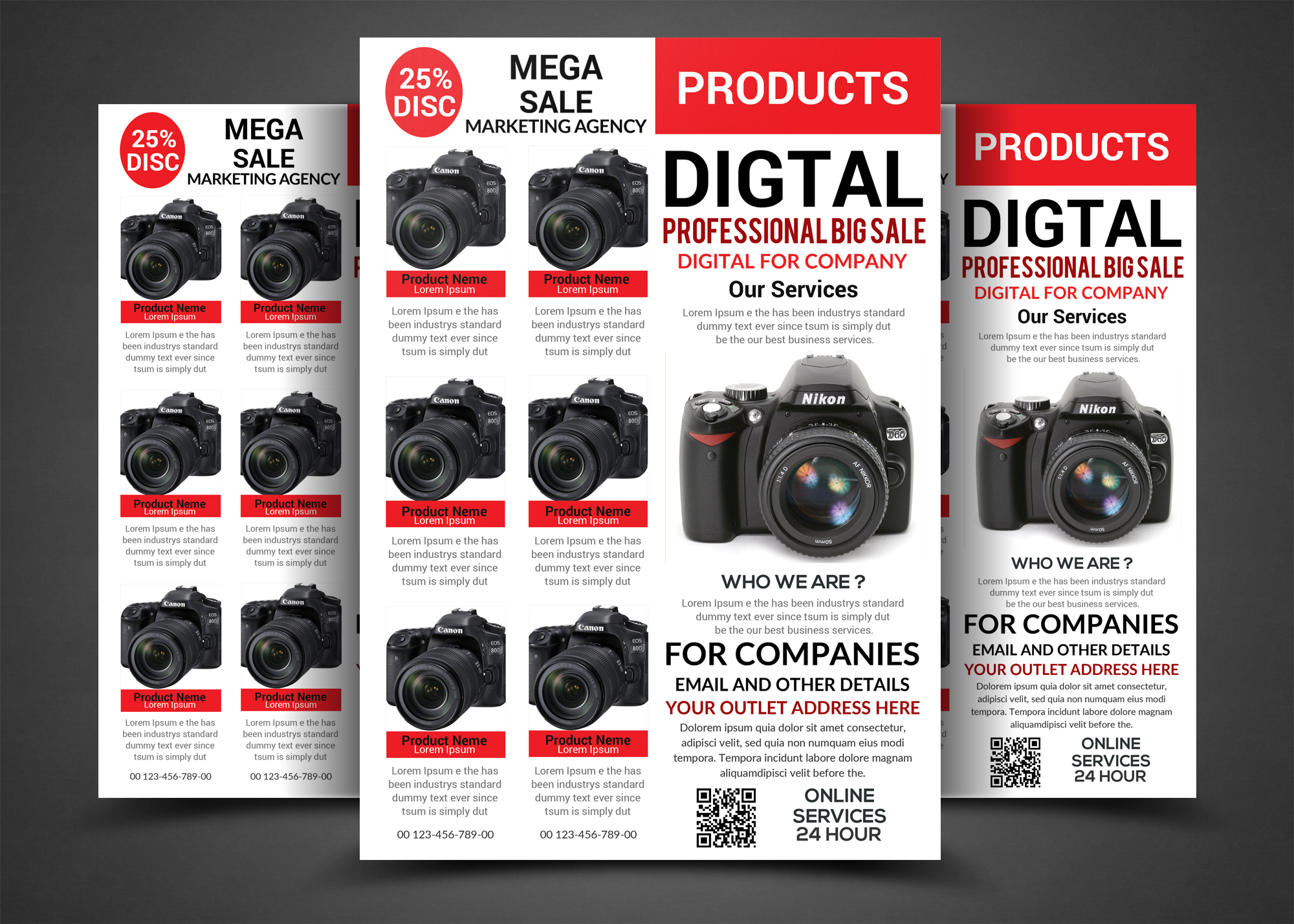 PRODUCTS Big Sale Flyer example image 1