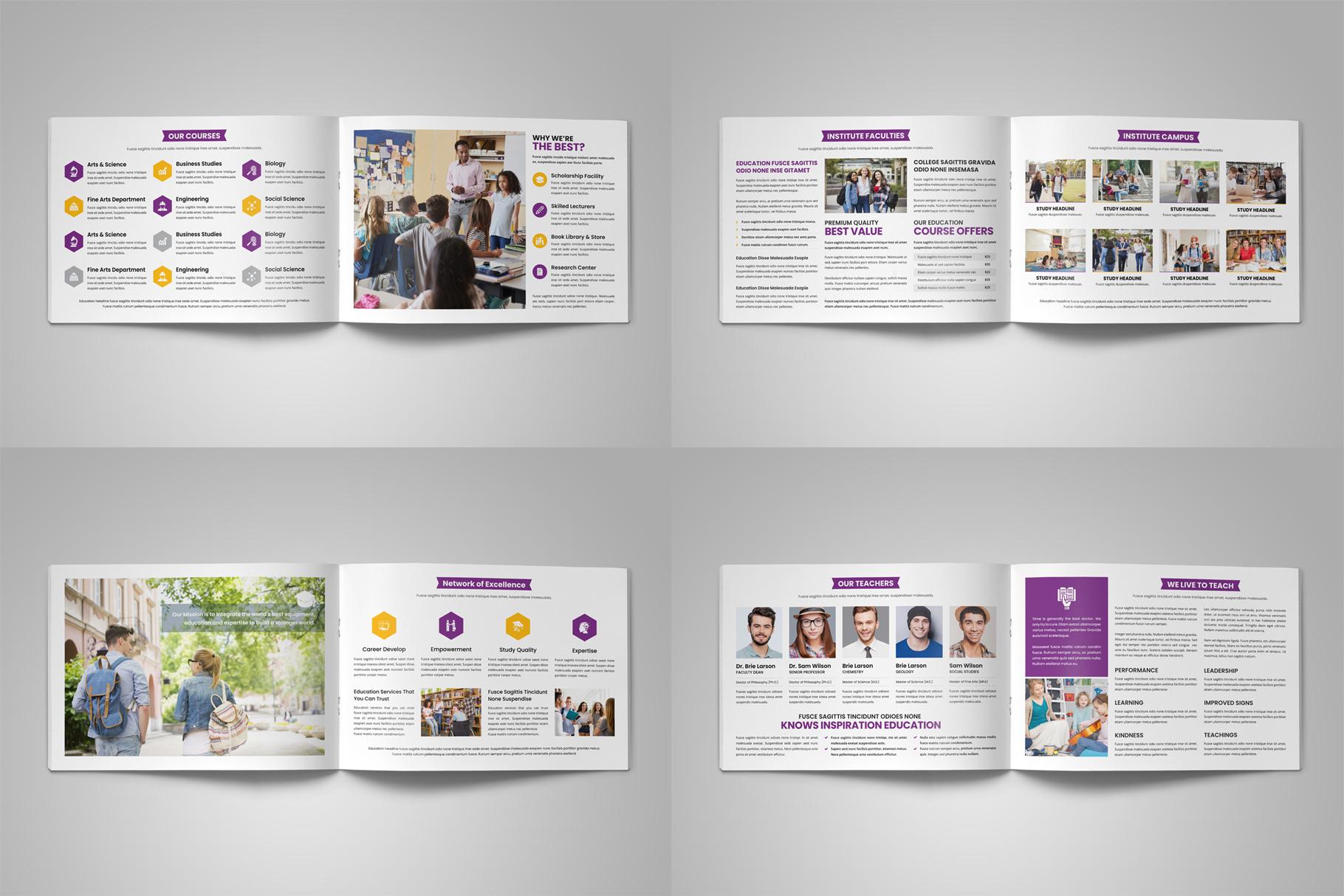 Education Prospectus Brochure v9 example image 13