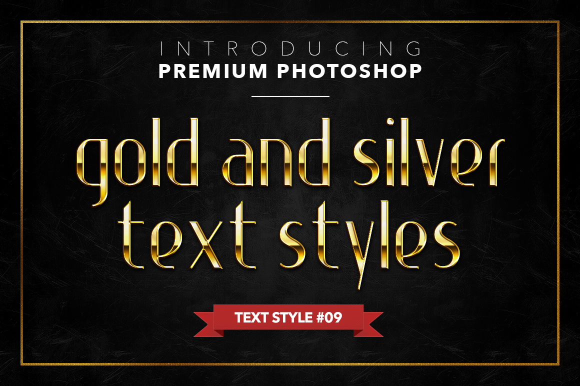 Gold & Silver #1 - 20 Text Styles example image 15