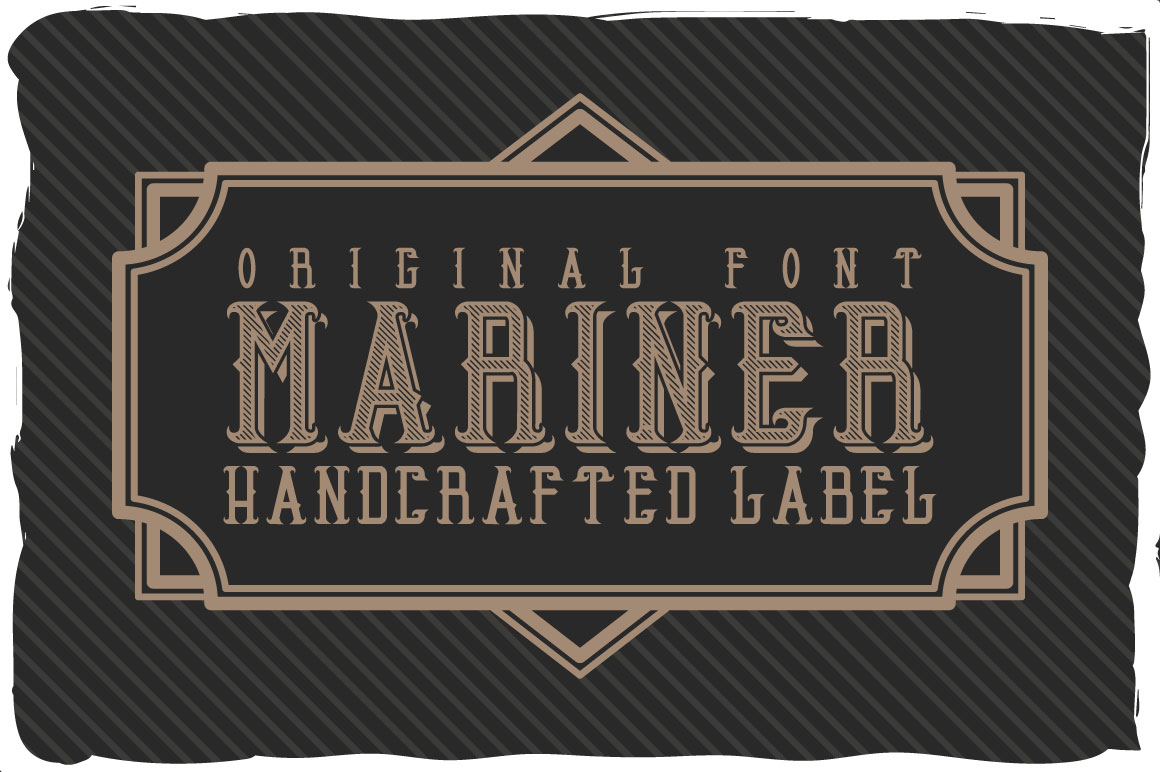 Mariner font example image 1
